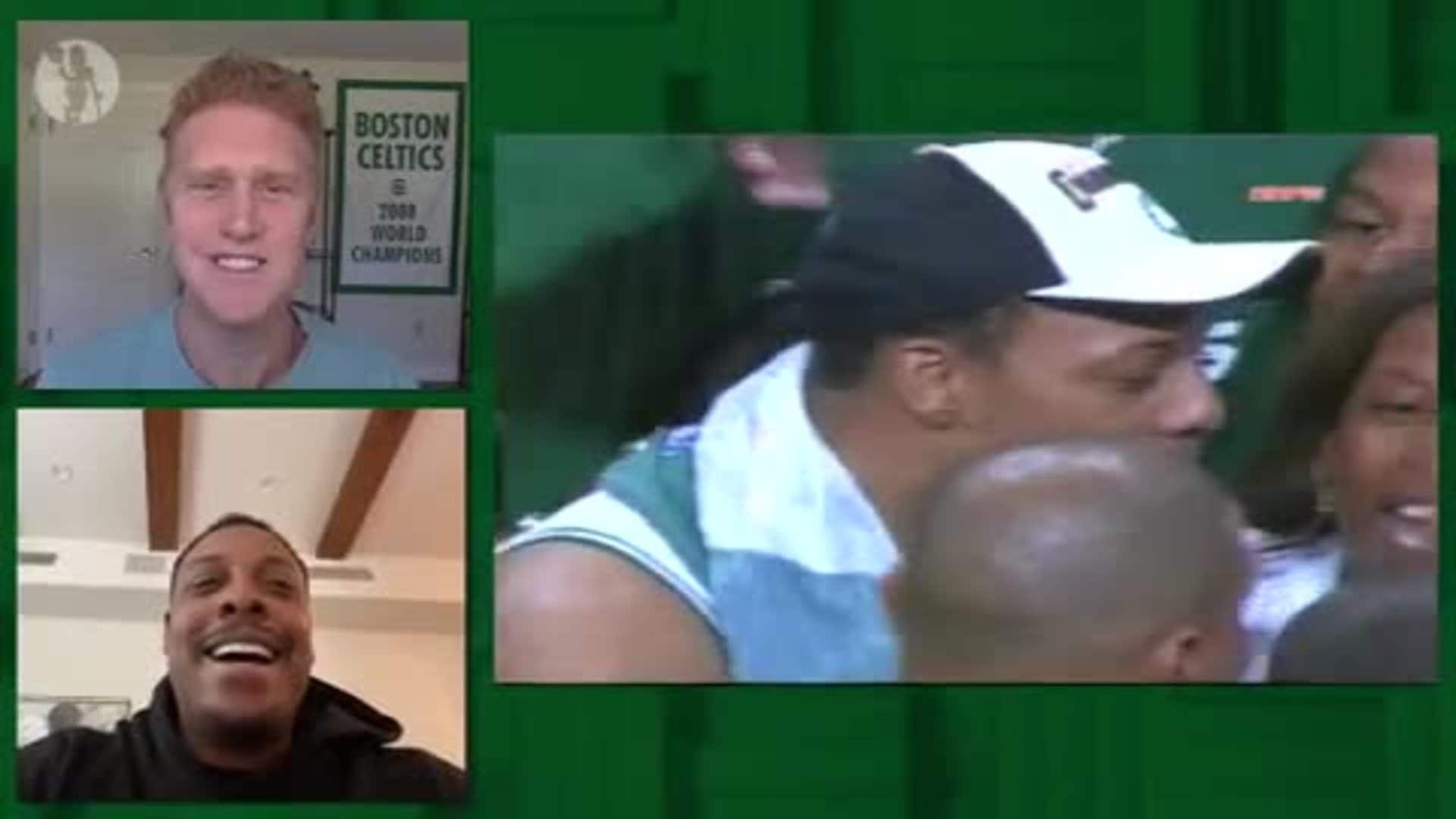 Pierce and Scal Reminisce on 2008 Title Run