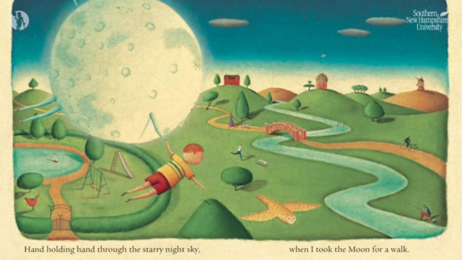 Virtual Read to Achieve - I Took The Moon For A Walk