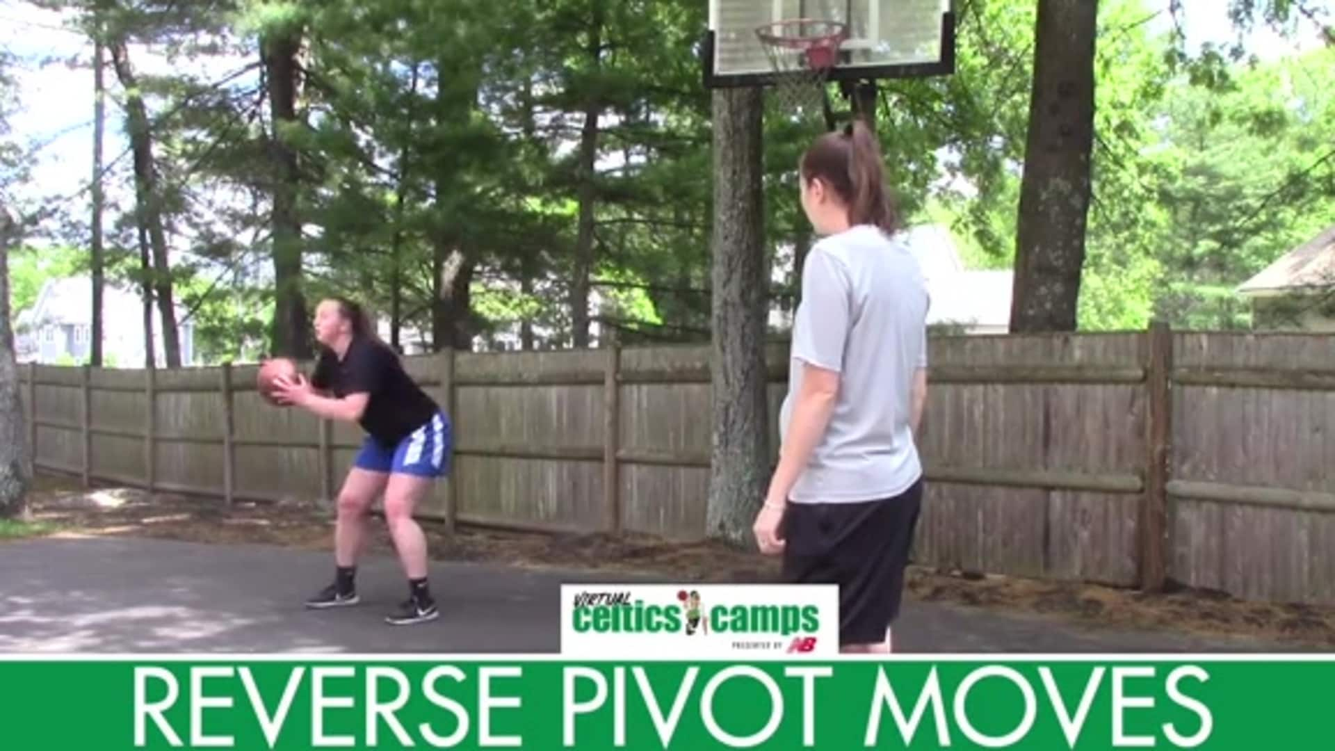 Virtual Celtics Camps - Coach Amy Finishing Around the Basket
