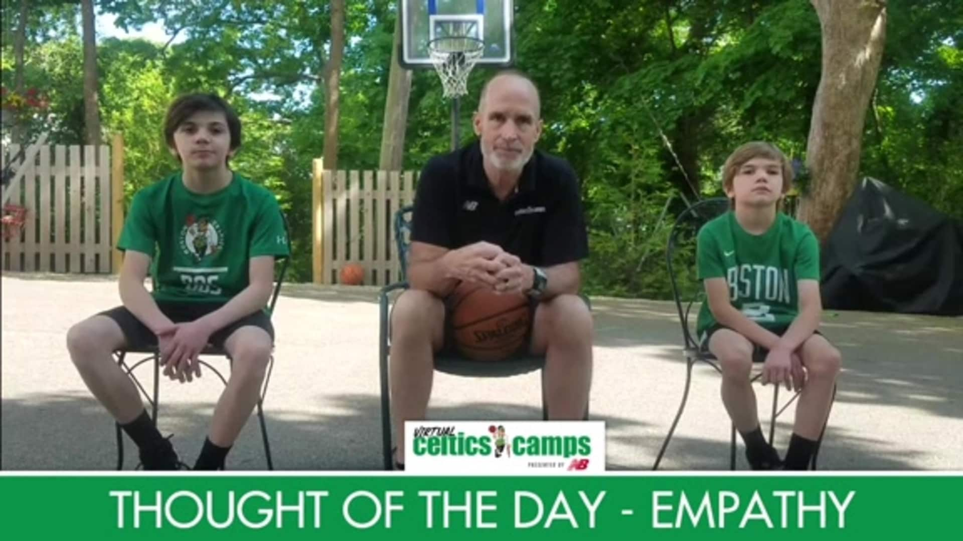 Virtual Celtics Camps - Thought of the Day Empathy