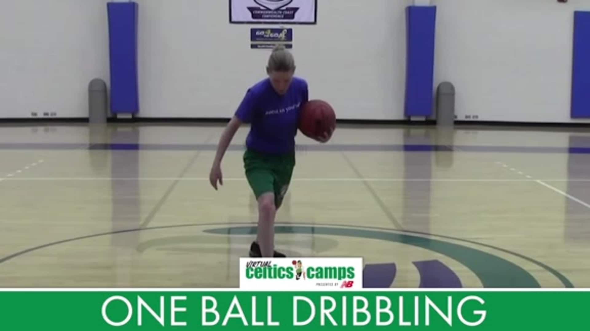 Virtual Celtics Camps - Stationary Ball Handling and Dribbling PART 2