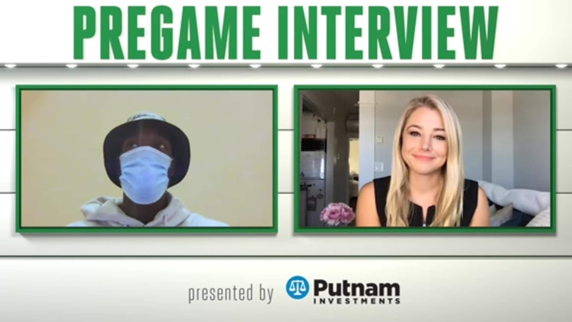 7/31 Putnam Pregame Interview: 'Finding Our Rhythm'