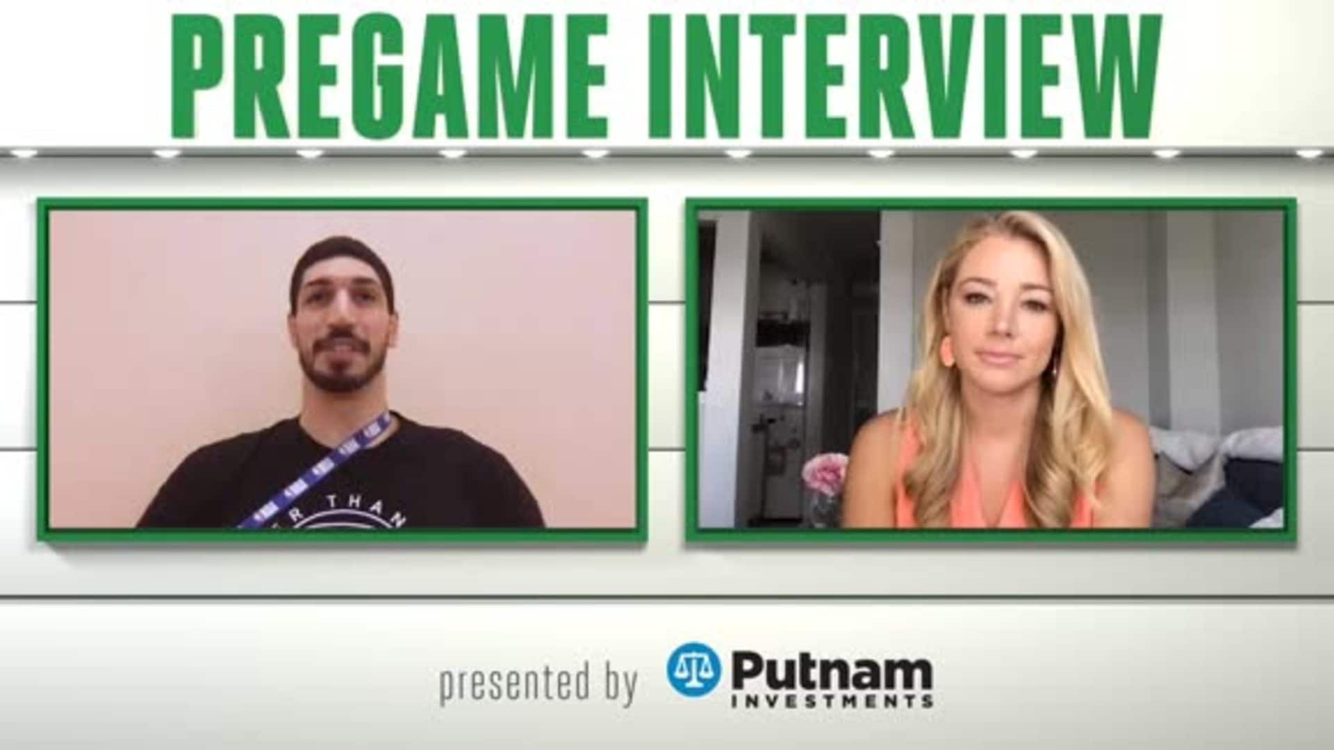 8/5 Putnam Pregame Interview: 'Bring The Energy'