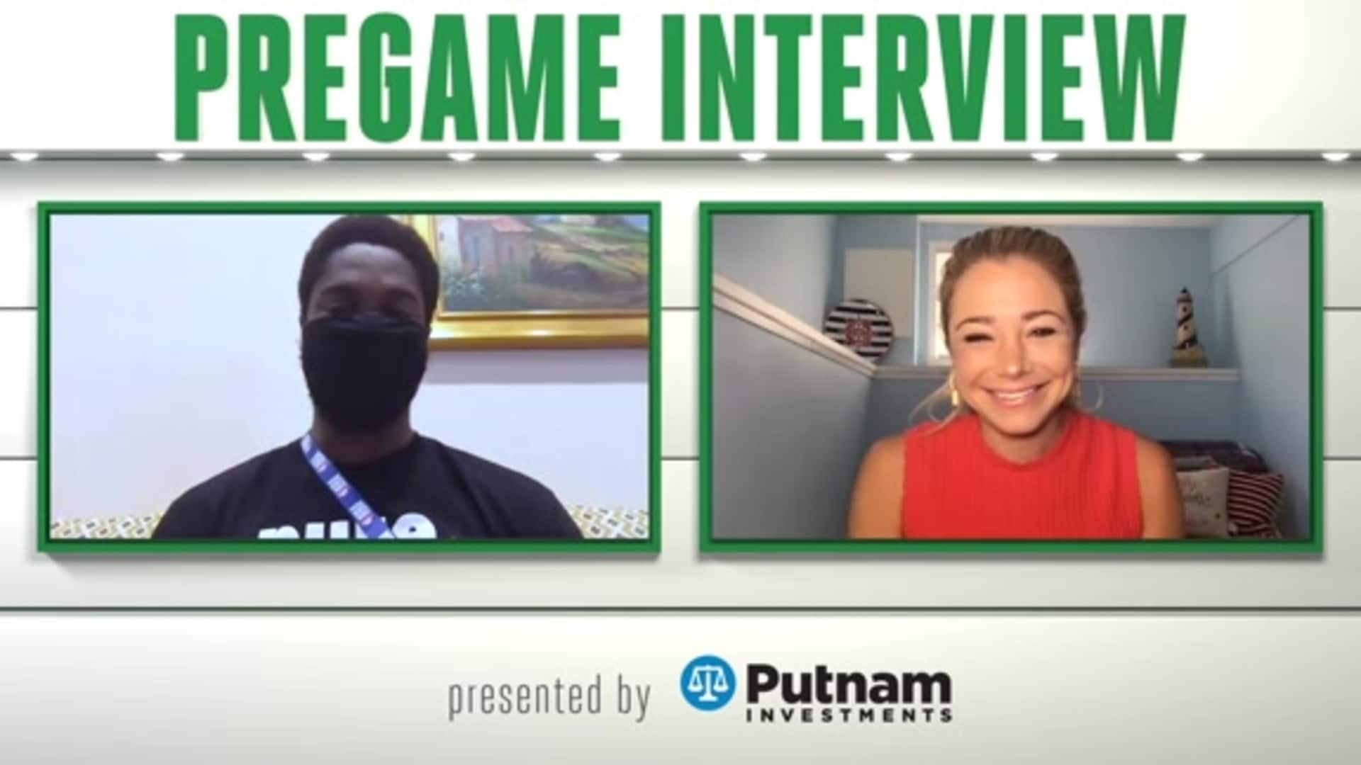 8/9 Putnam Pregame Interview: Defensive Mindset