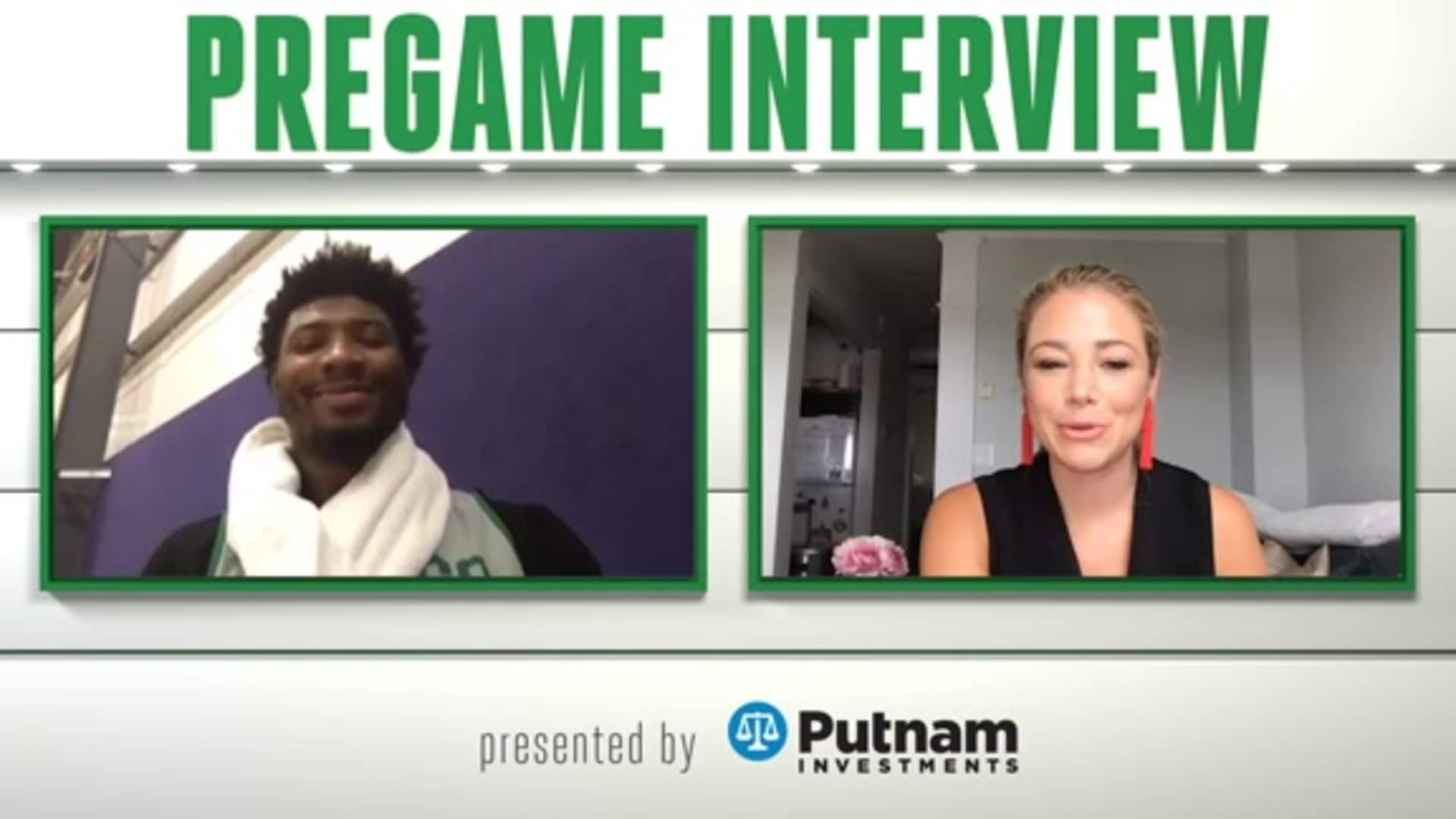 8/13 Putnam Pregame Interview: 'Trusting Eachother'
