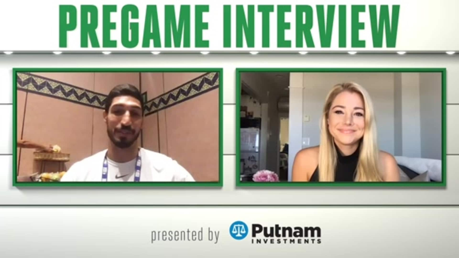 9/19 Putnam Pregame Interview: One Goal