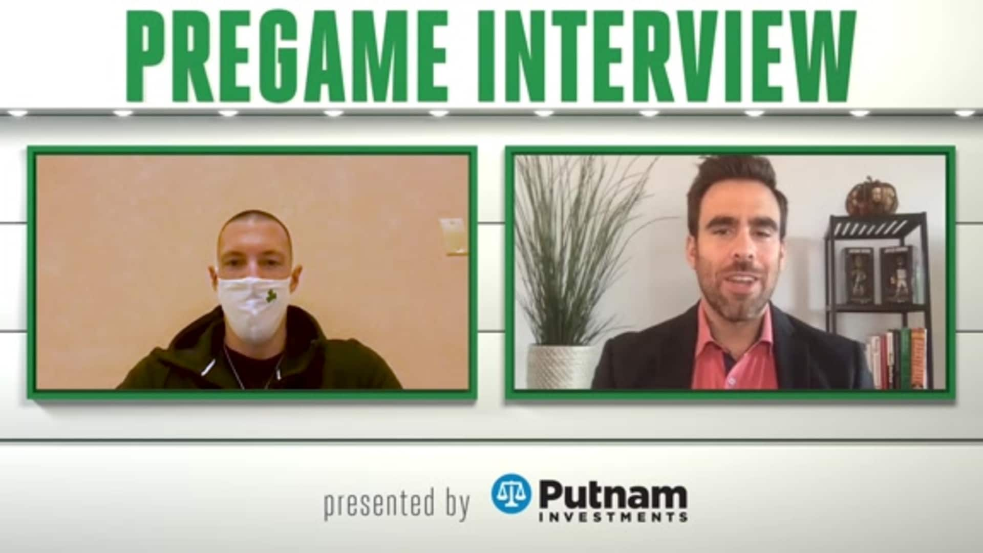 9/25 Putnam Pregame Interview: Playing with Pride