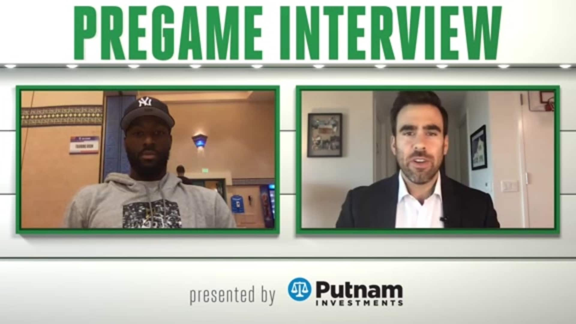 9/27 Putnam Pregame Interview: From the Jump