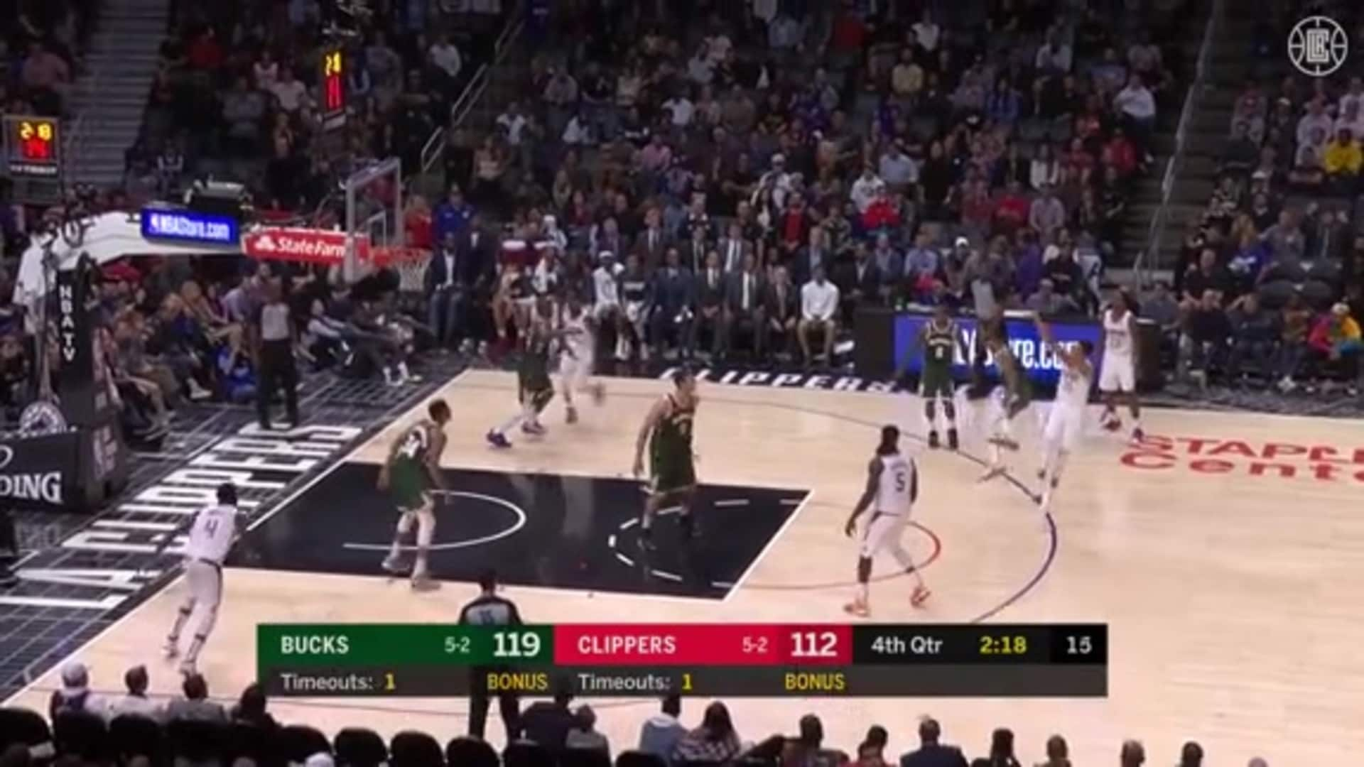 Shamet Catch and Shoot 3-pointer (11.06.19)
