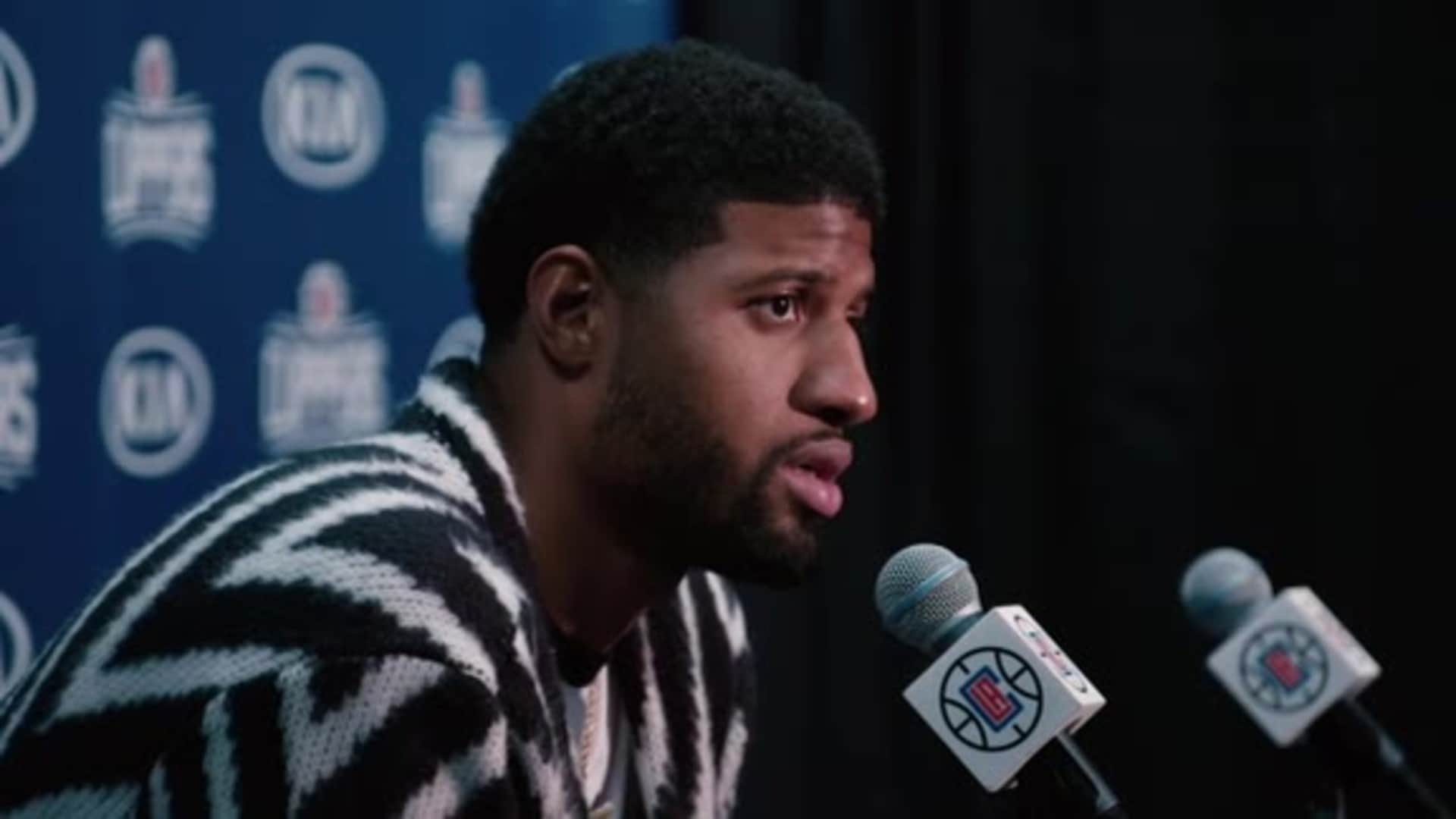 Post-Game Sound | Paul George (12.01.19)