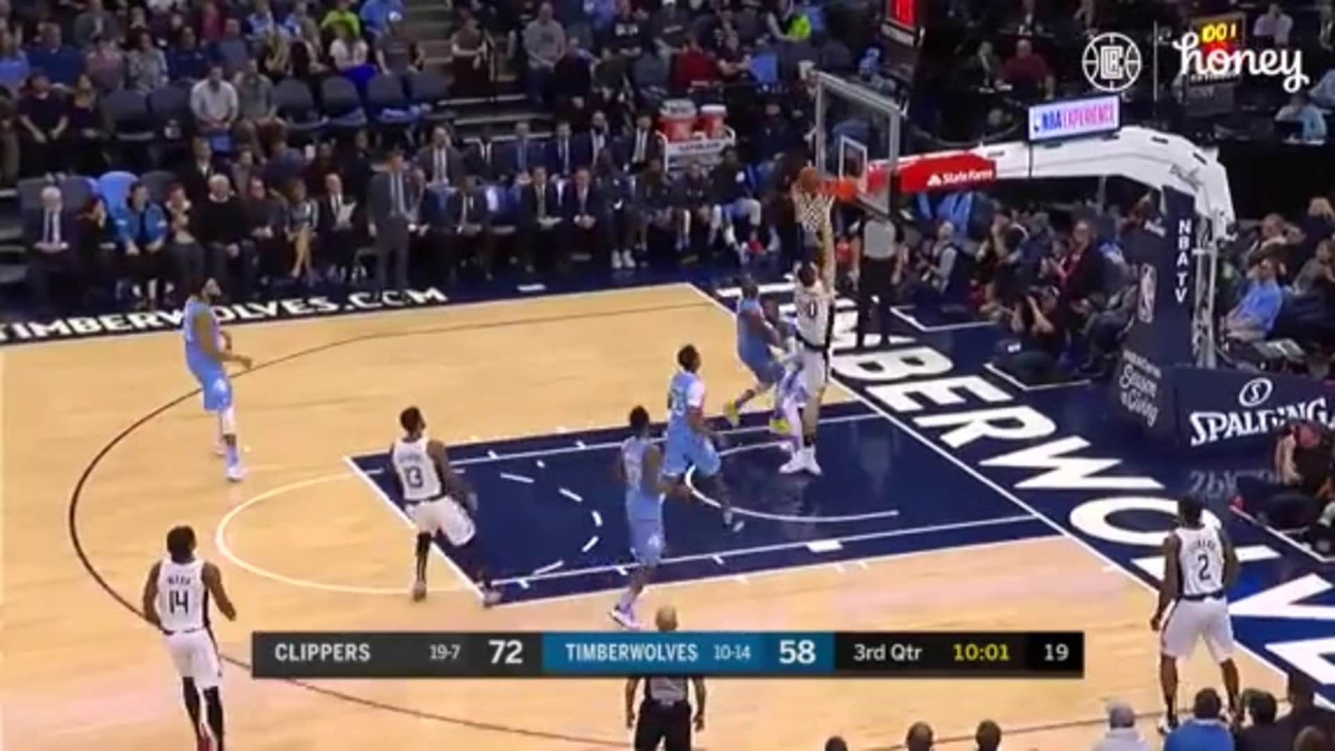 LA Clippers Highlights vs. Minnesota Timberwolves | (12.13.19)