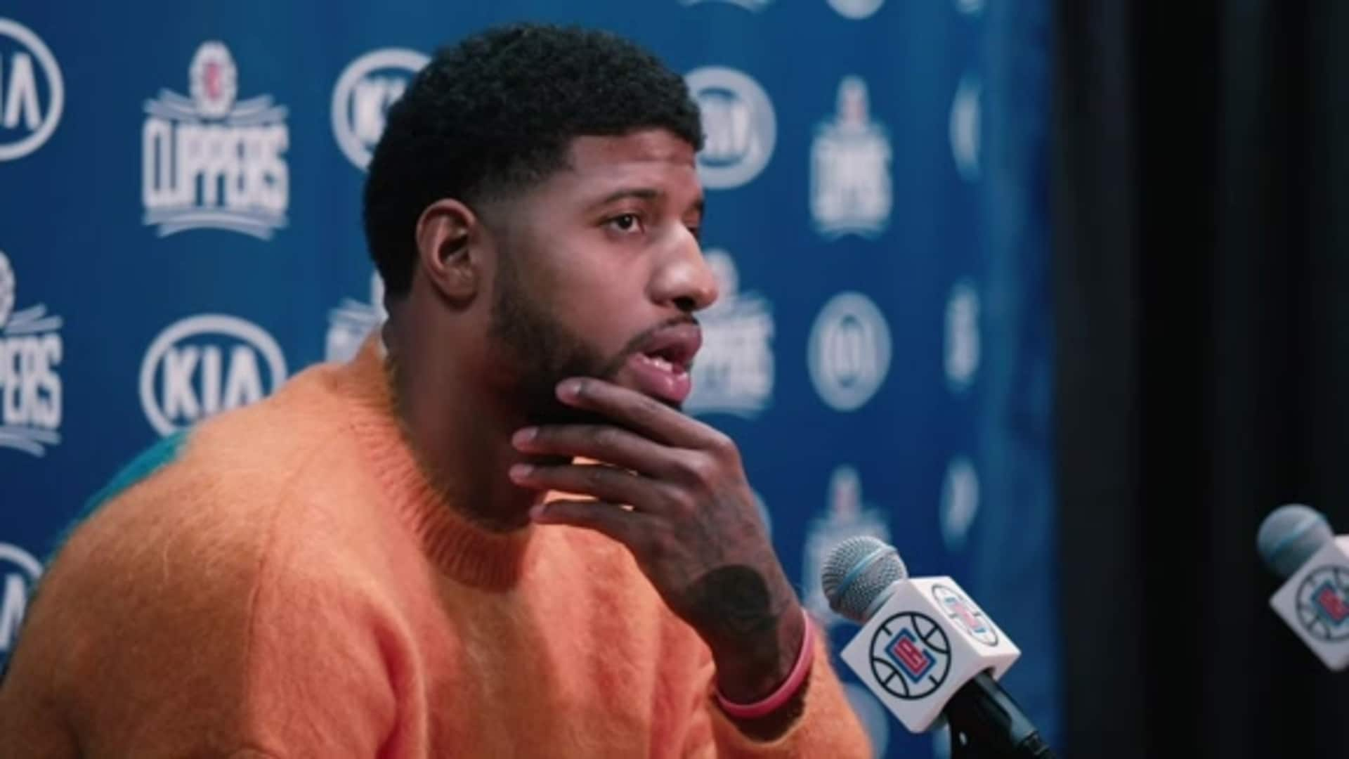 Post-Game Sound | Paul George (12.17.19)