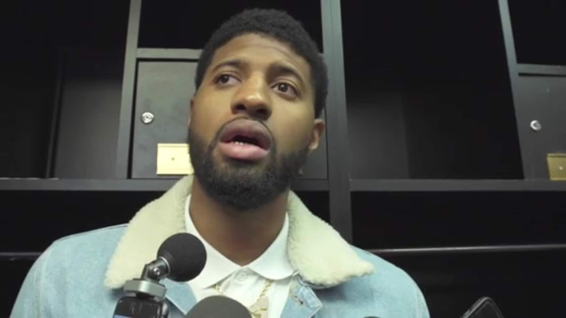 Post-Game Sound | Paul George (12.21.19)