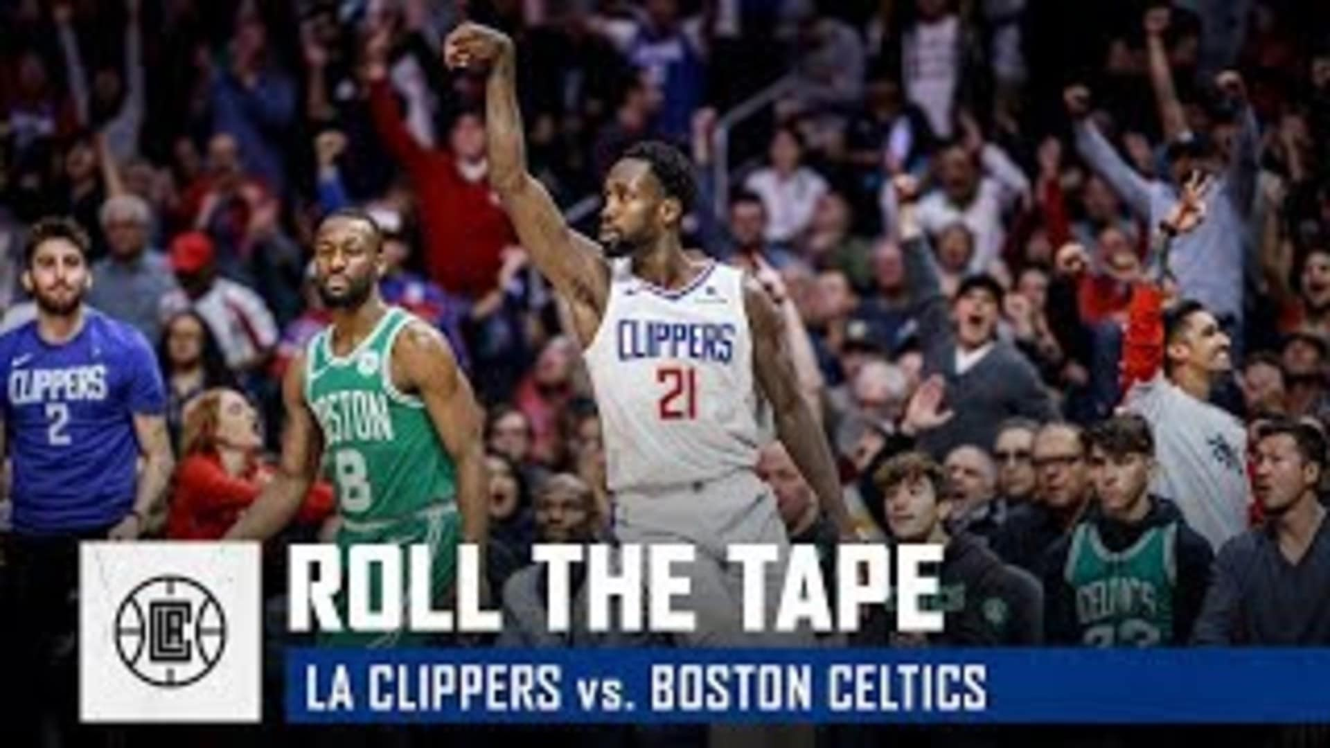 Scenes from the Clippers' Overtime Thriller vs. Boston | Roll the Tape