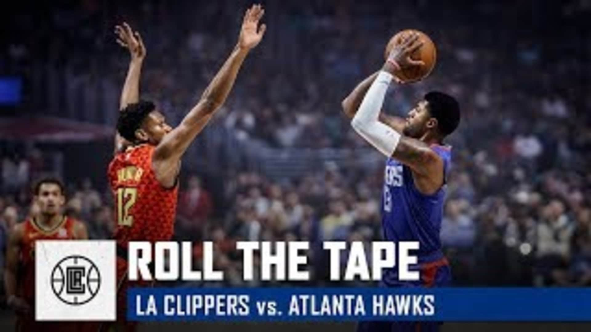 All-Access from Paul George's Clippers Home Debut | Roll the Tape