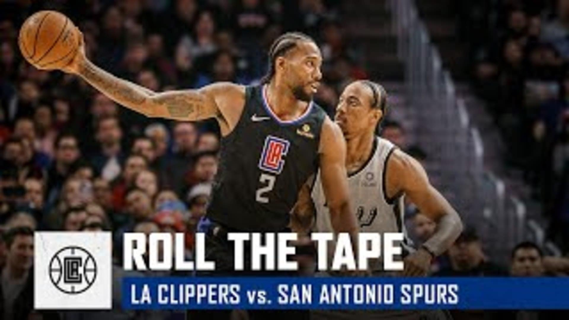 All-Access from the Clippers' Halloween Win vs. San Antonio | Roll the Tape