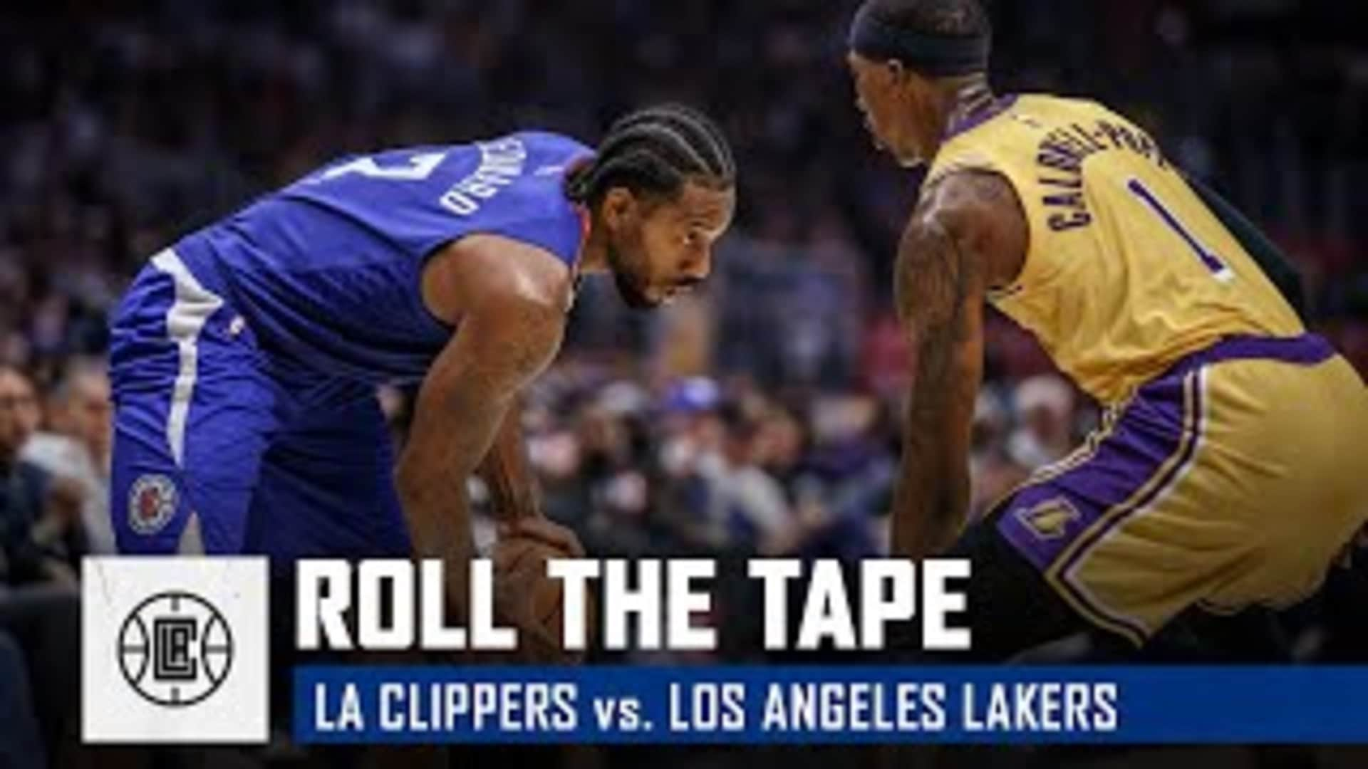 Clippers Open the 2019-20 Season with a W | Roll the Tape