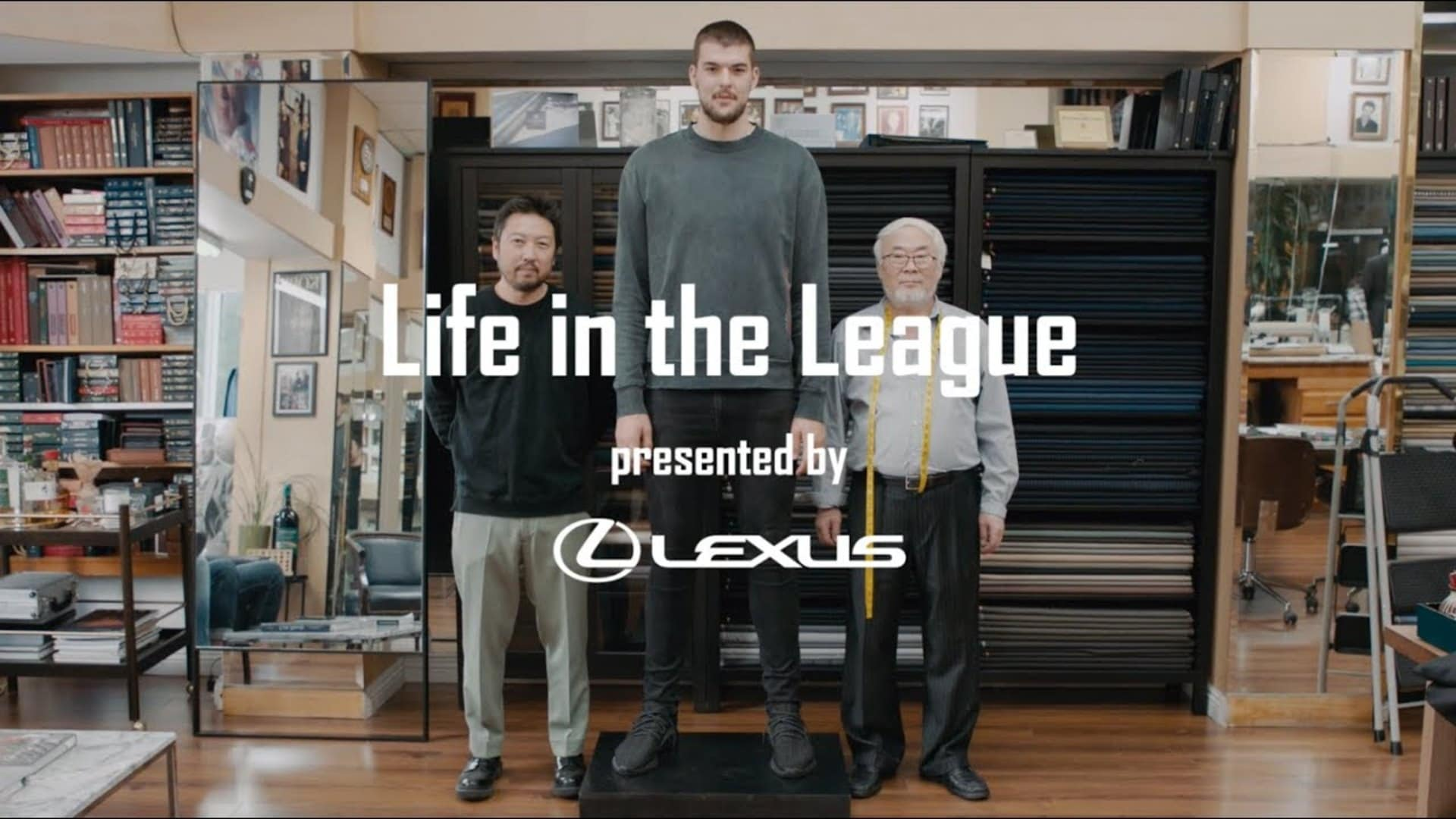 Ivica Zubac Gets Fitted for his Wedding Suit | Life in the League