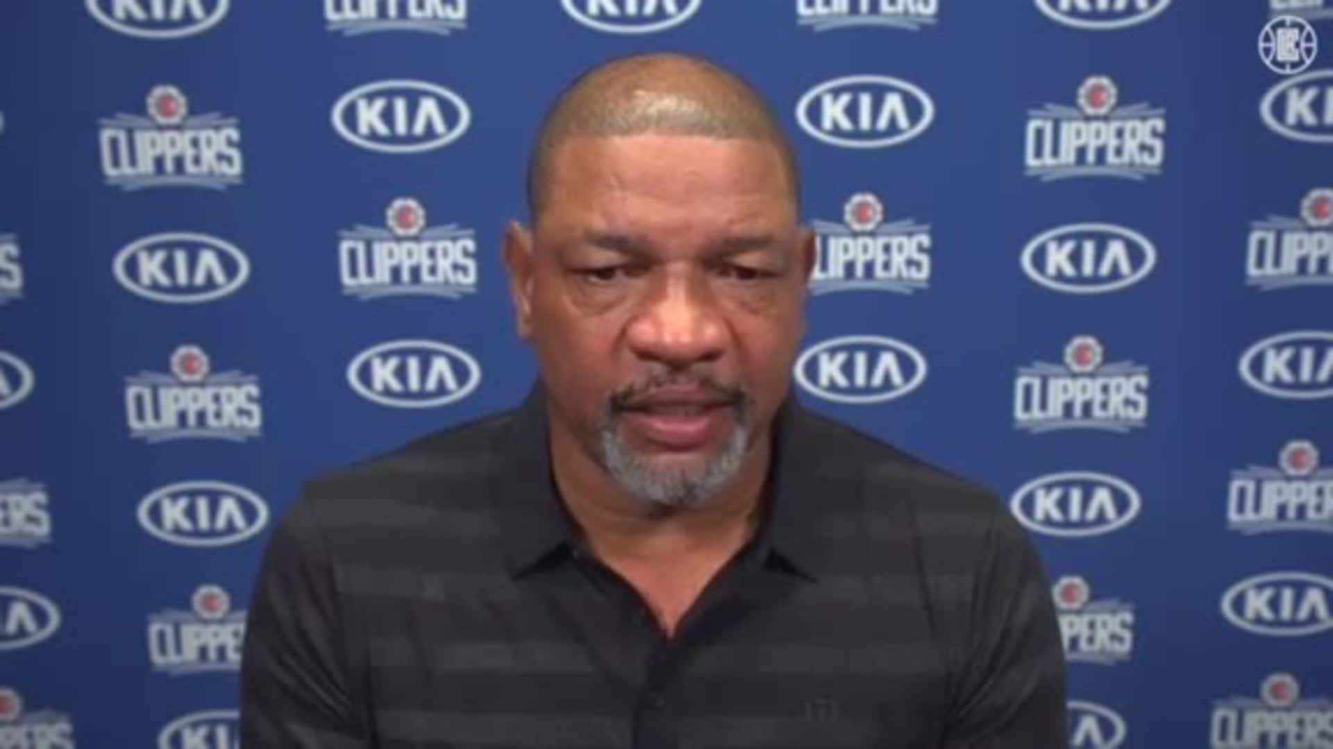 Virtual Media Availability: Doc Rivers | July 1, 2020