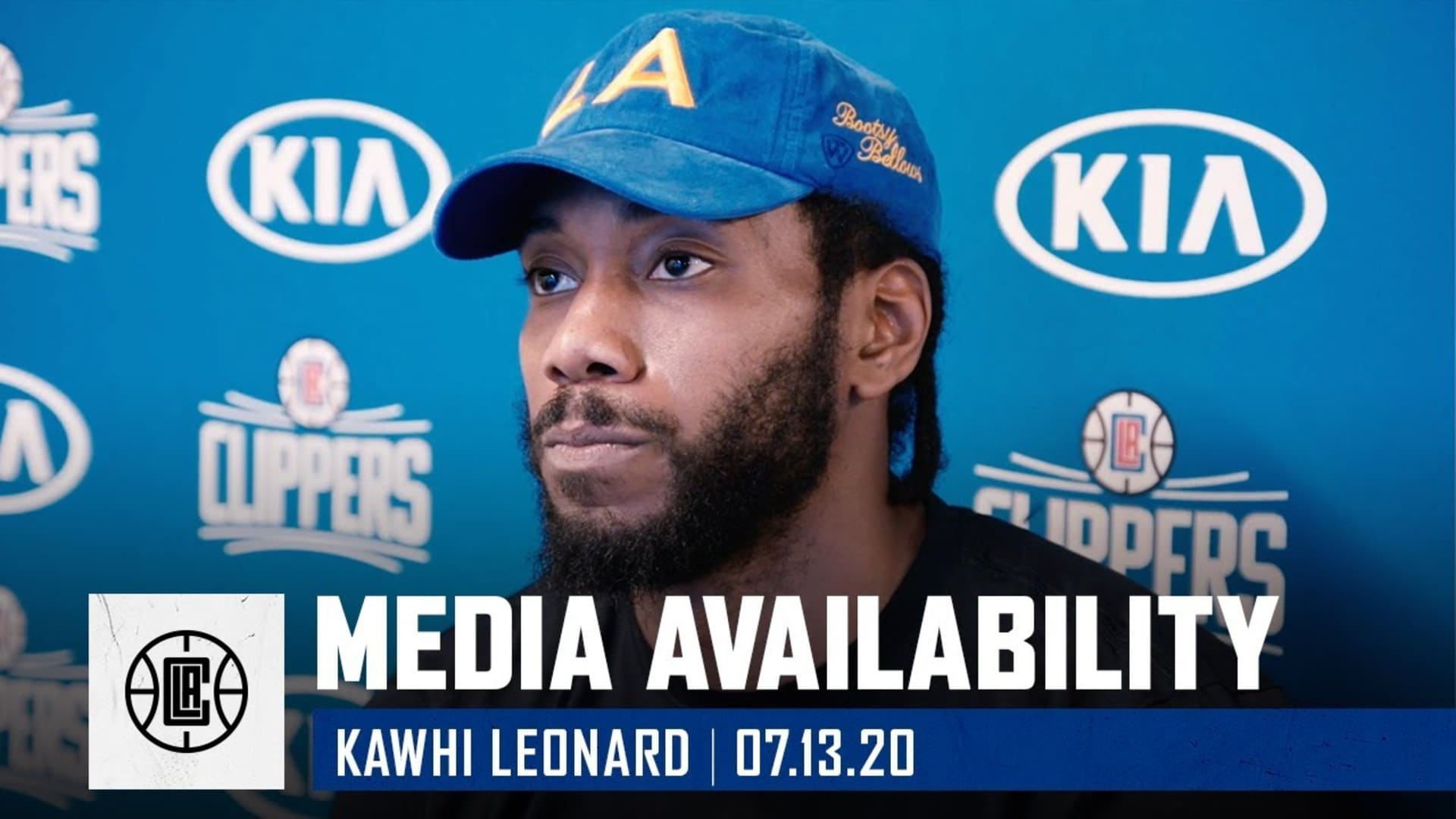 Virtual Media Availability: Kawhi Leonard | July 13, 2020