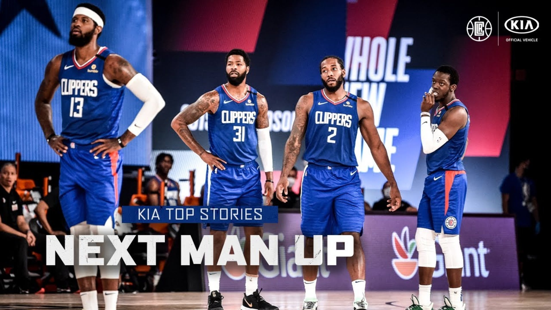 The Clippers' Next Man Up Mentality | Kia Top Stories