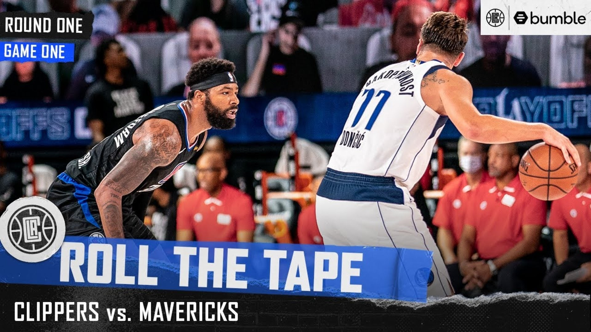 Clippers Open 2020 Playoffs with a W | Roll the Tape