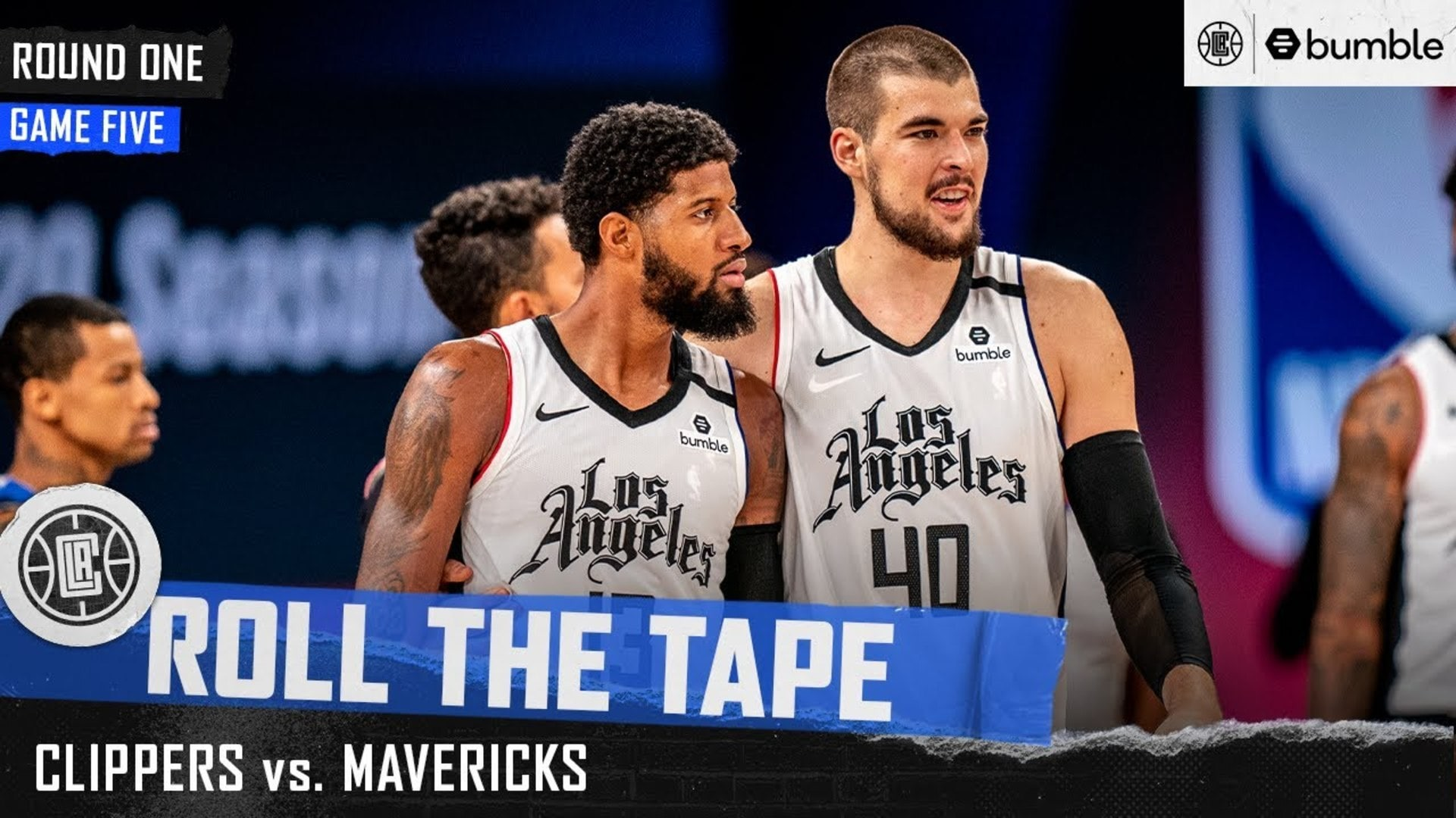 Clippers Bounce Back in Game Five Win Over Mavs | Roll the Tape
