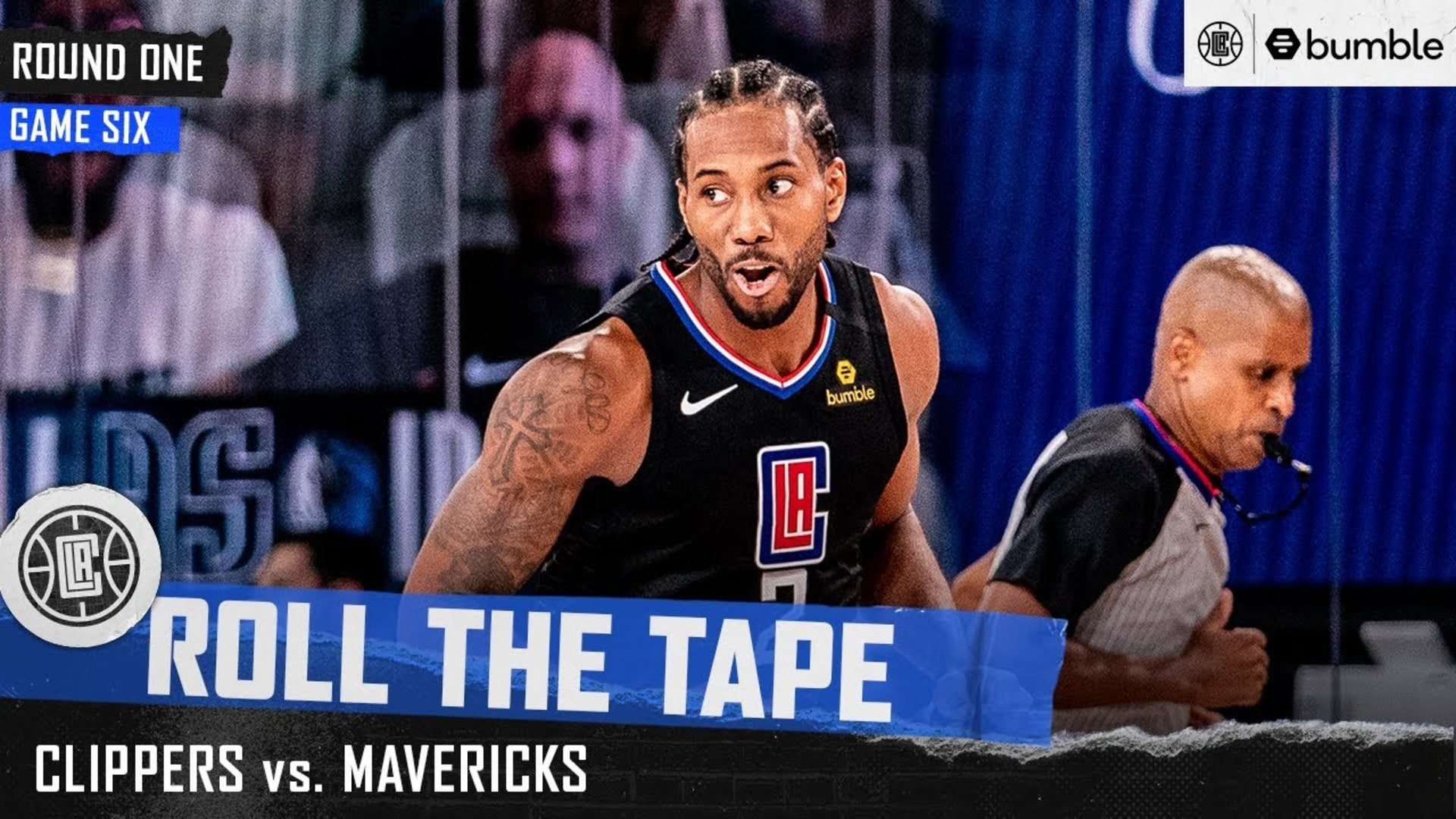 Inside the Clippers' First Round Clinching Win vs. Dallas | Roll the Tape