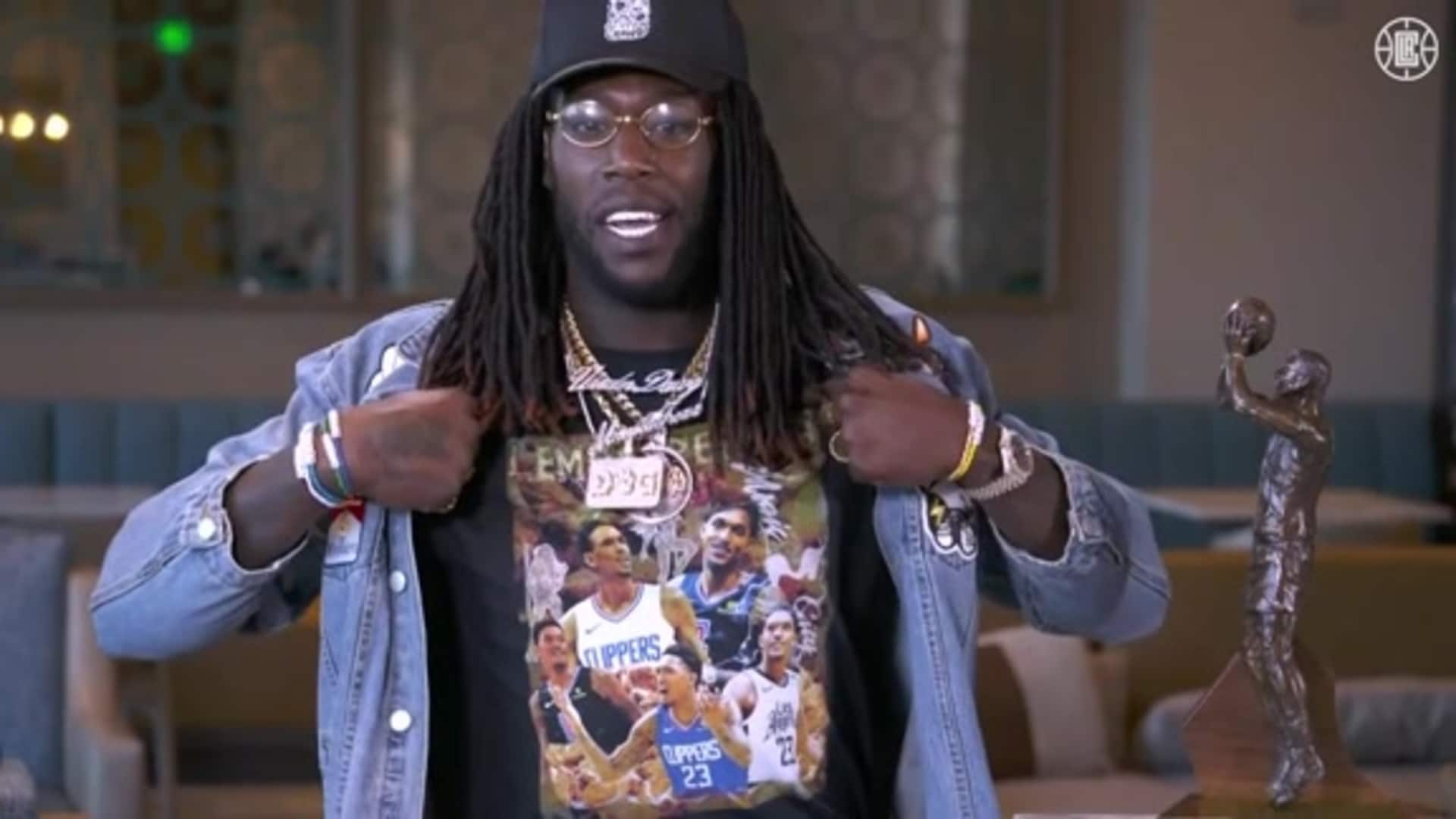 Montrezl Harrell Joins Inside the NBA to Discuss Winning Sixth Man of the Year | LA Clippers