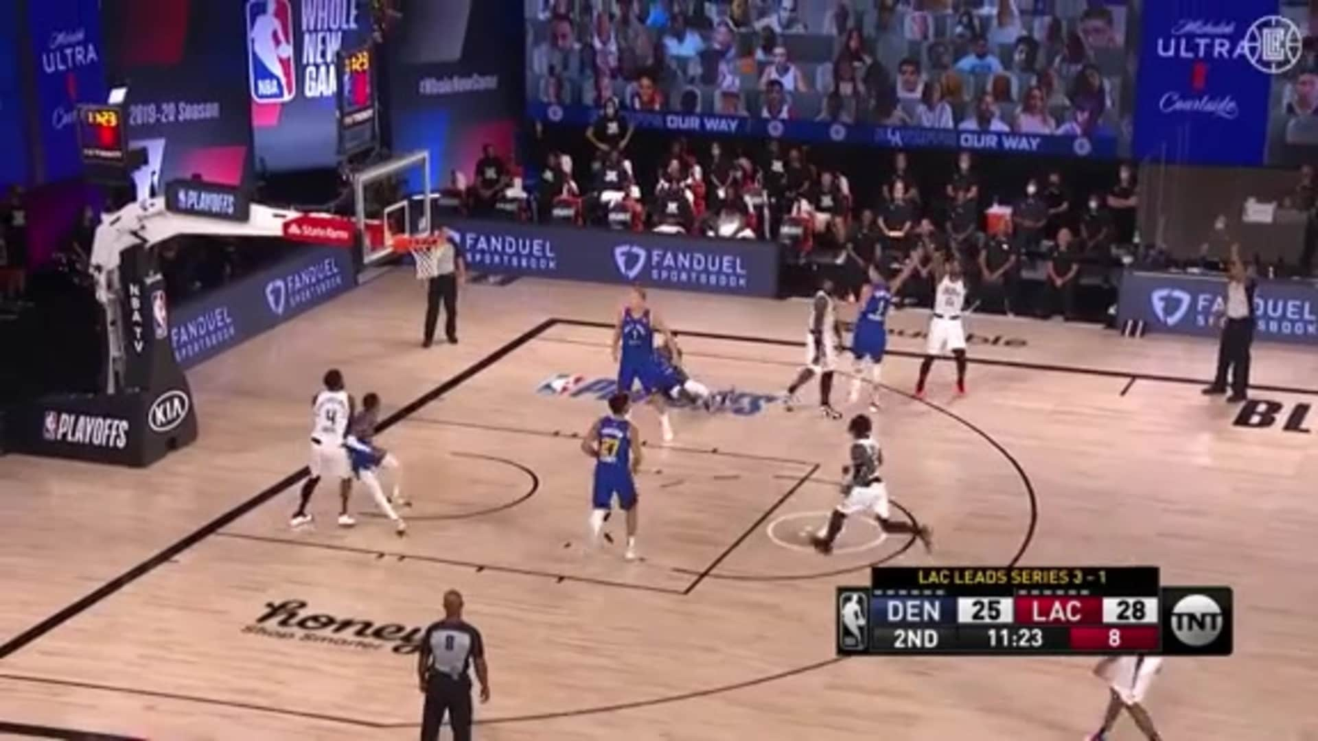 Paul George Creates Space and Cashes in Three | (09.11.20)