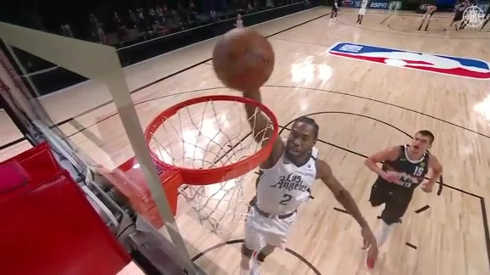 Kawhi Leonard Steals it and Slams it on the Other End | (09.13.20)