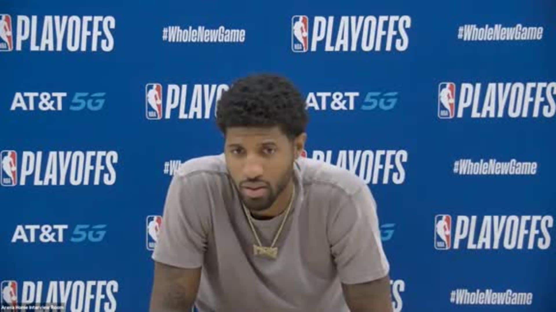 Paul George Post-Game Press Conference | Clippers vs. Nuggets Game 7