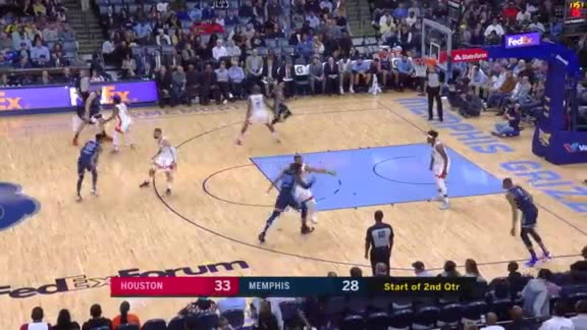 Bruno Caboclo slams it home