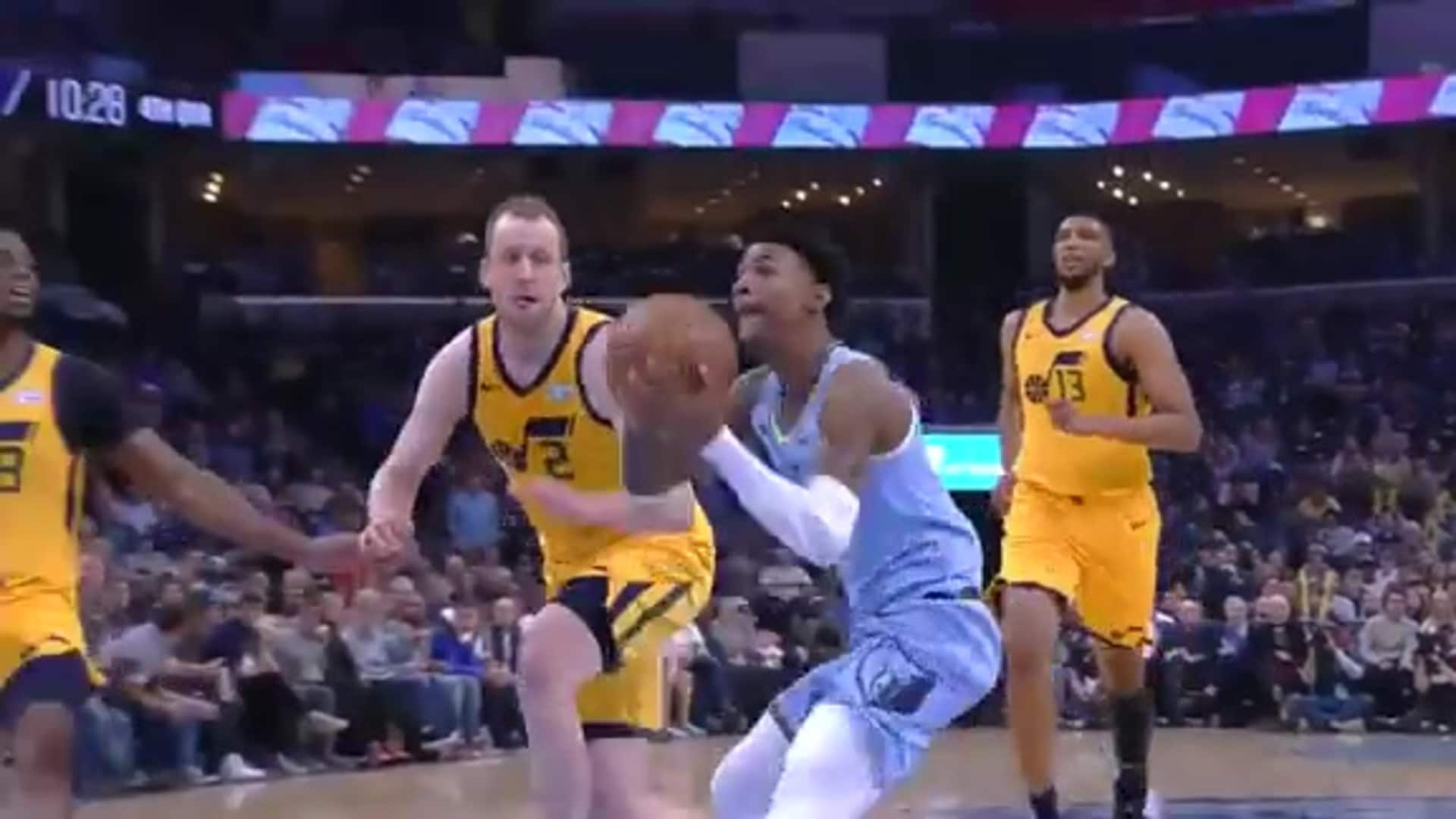 Ja Morant is clear for takeoff
