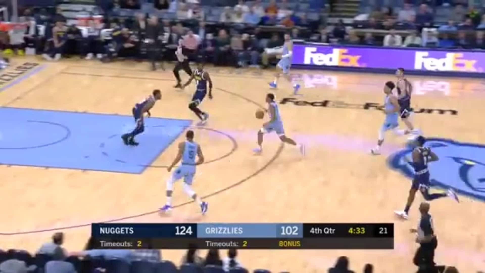 Grizzlies vs. Nuggets highlights 11.17.19