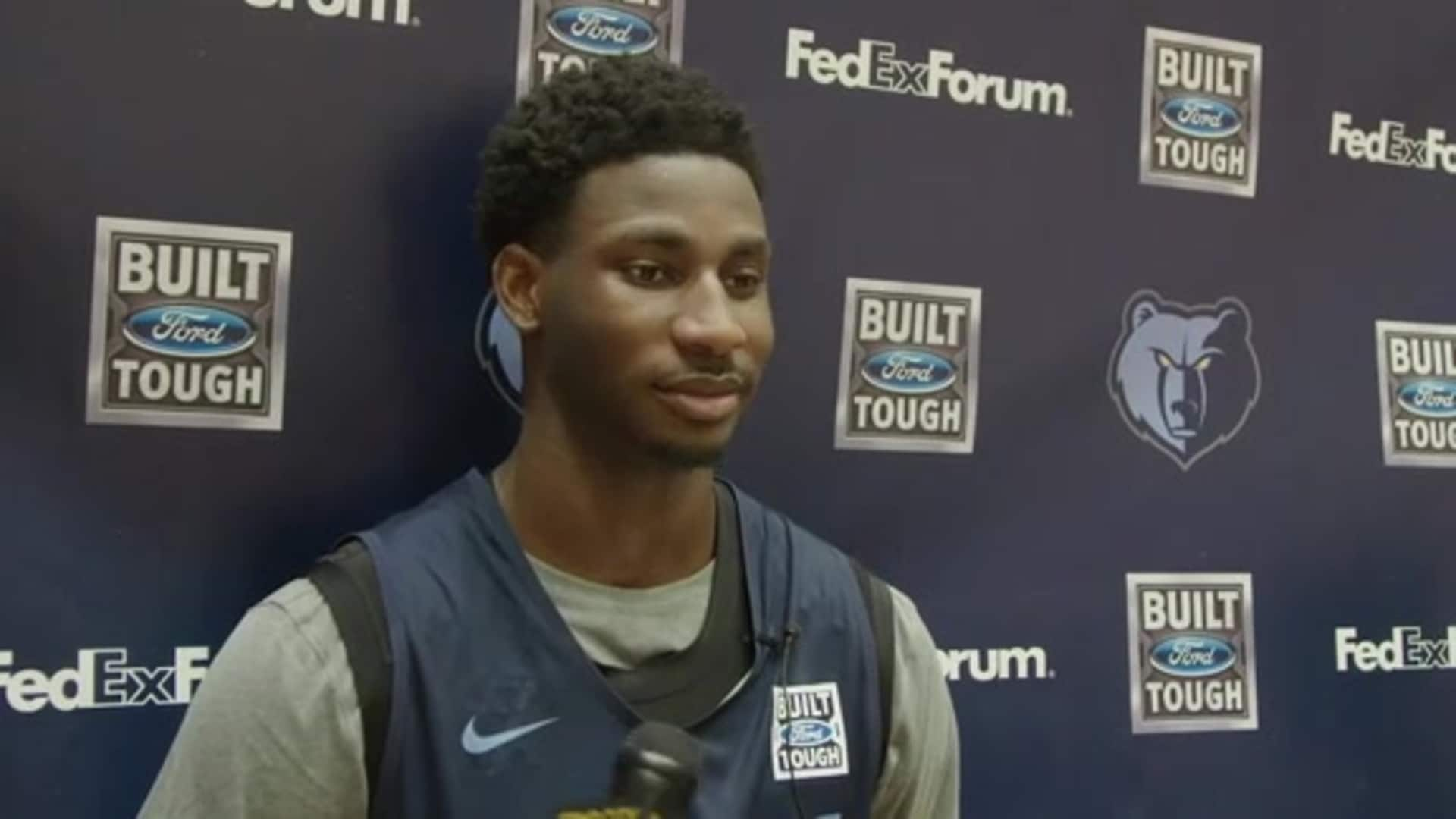 11.21.19 Jaren Jackson Jr. media availability
