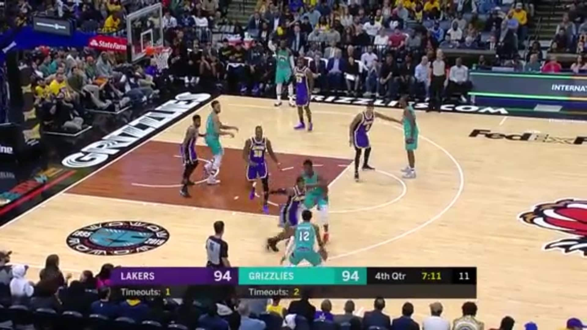 Grizzlies vs. Lakers highlights 11.23.19