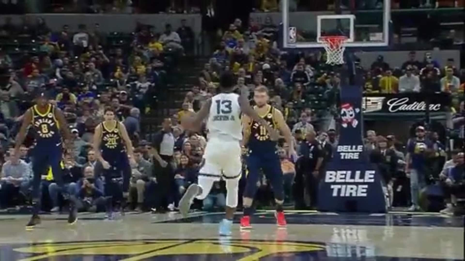 Grizzlies go on a 10-0 run in the 4th