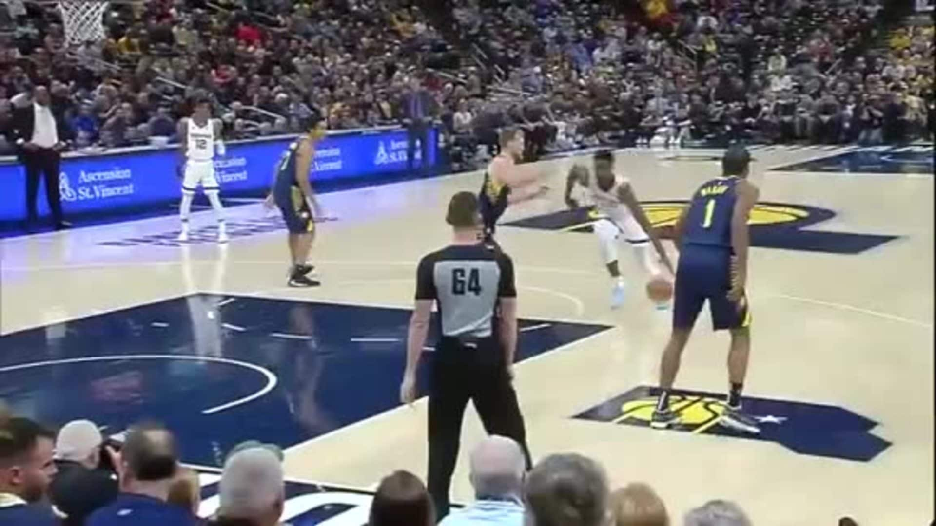 Grizzlies @ Pacers highlights 11.25.19