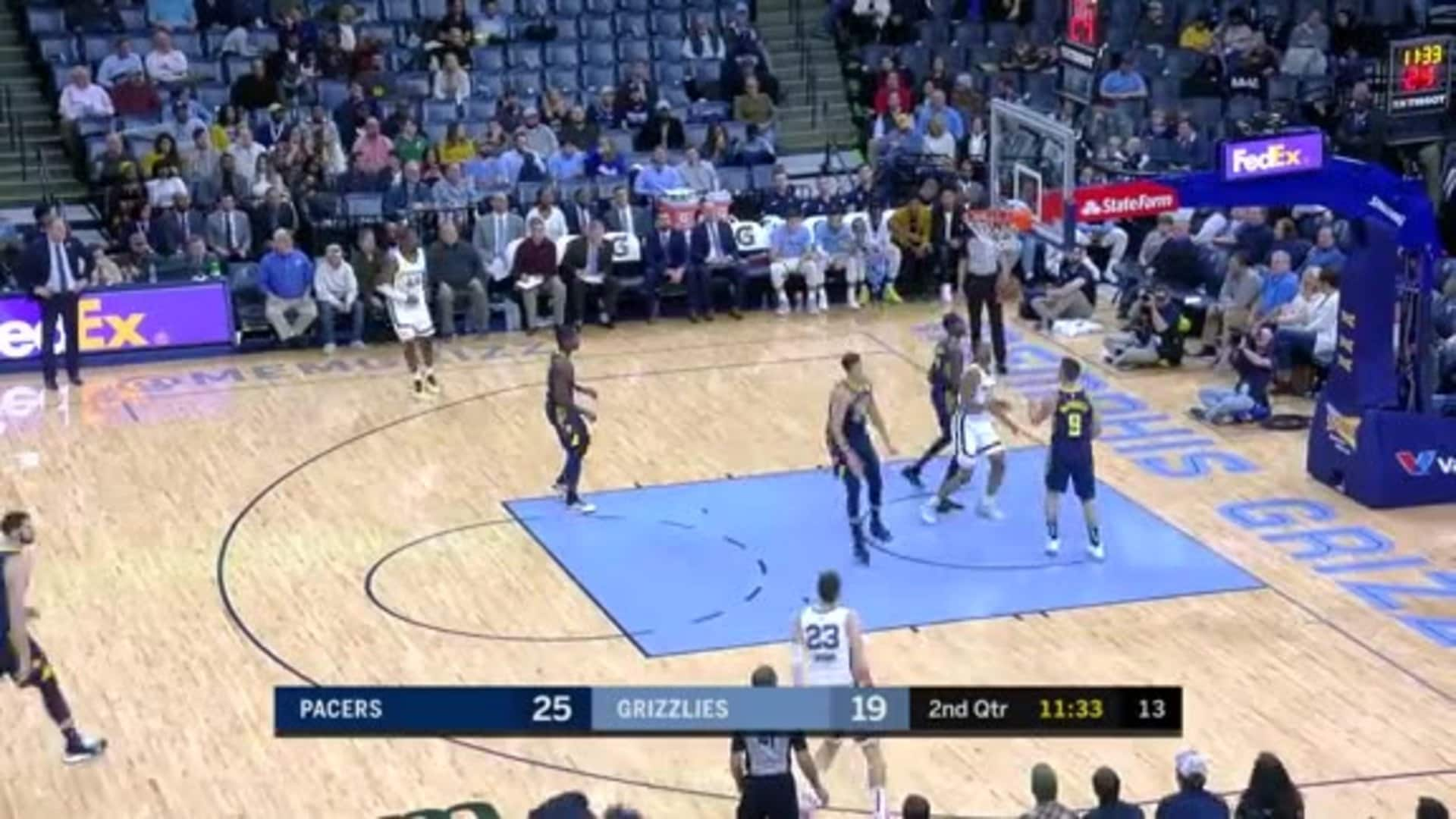 Memphis Grizzlies go on a 12-0 run
