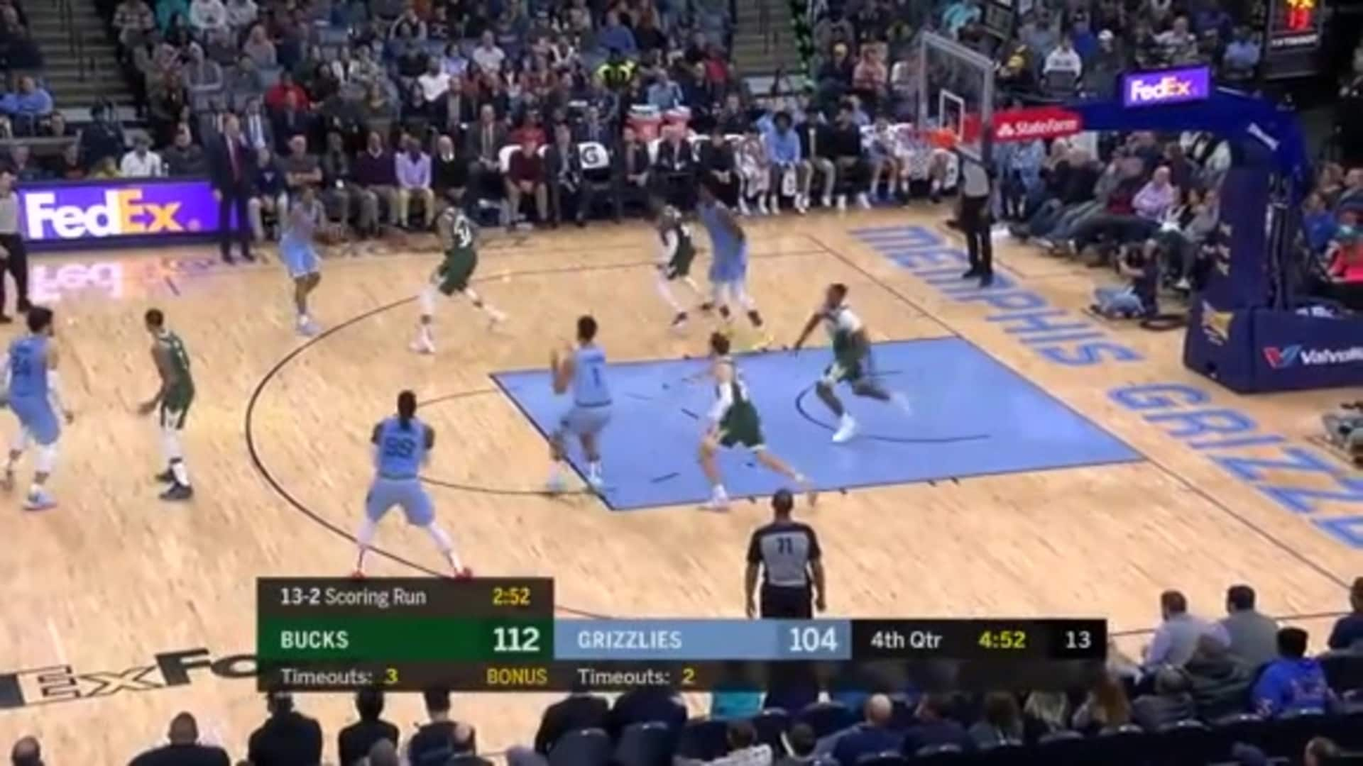 Grizzlies vs. Bucks highlights 12.13.19