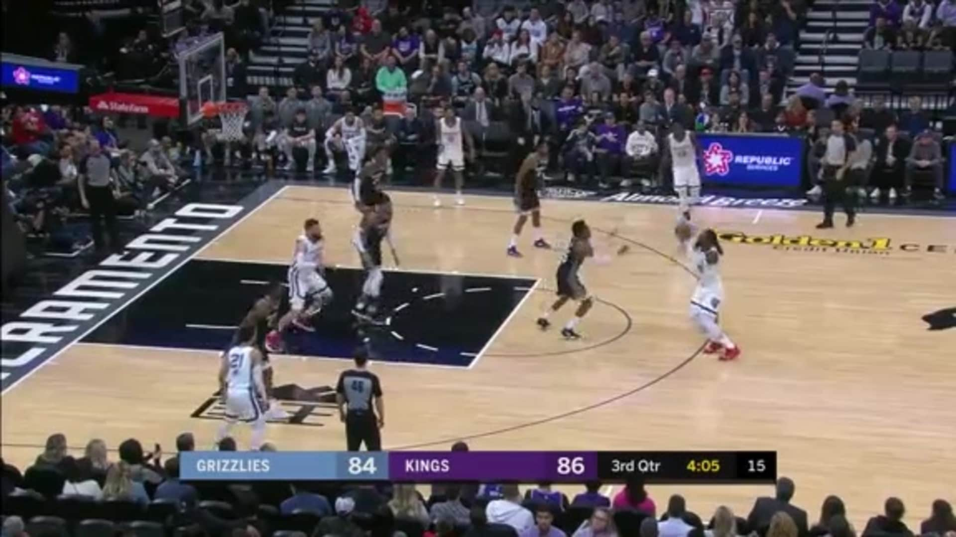 Grizzlies @ Kings highlights 1.2.20