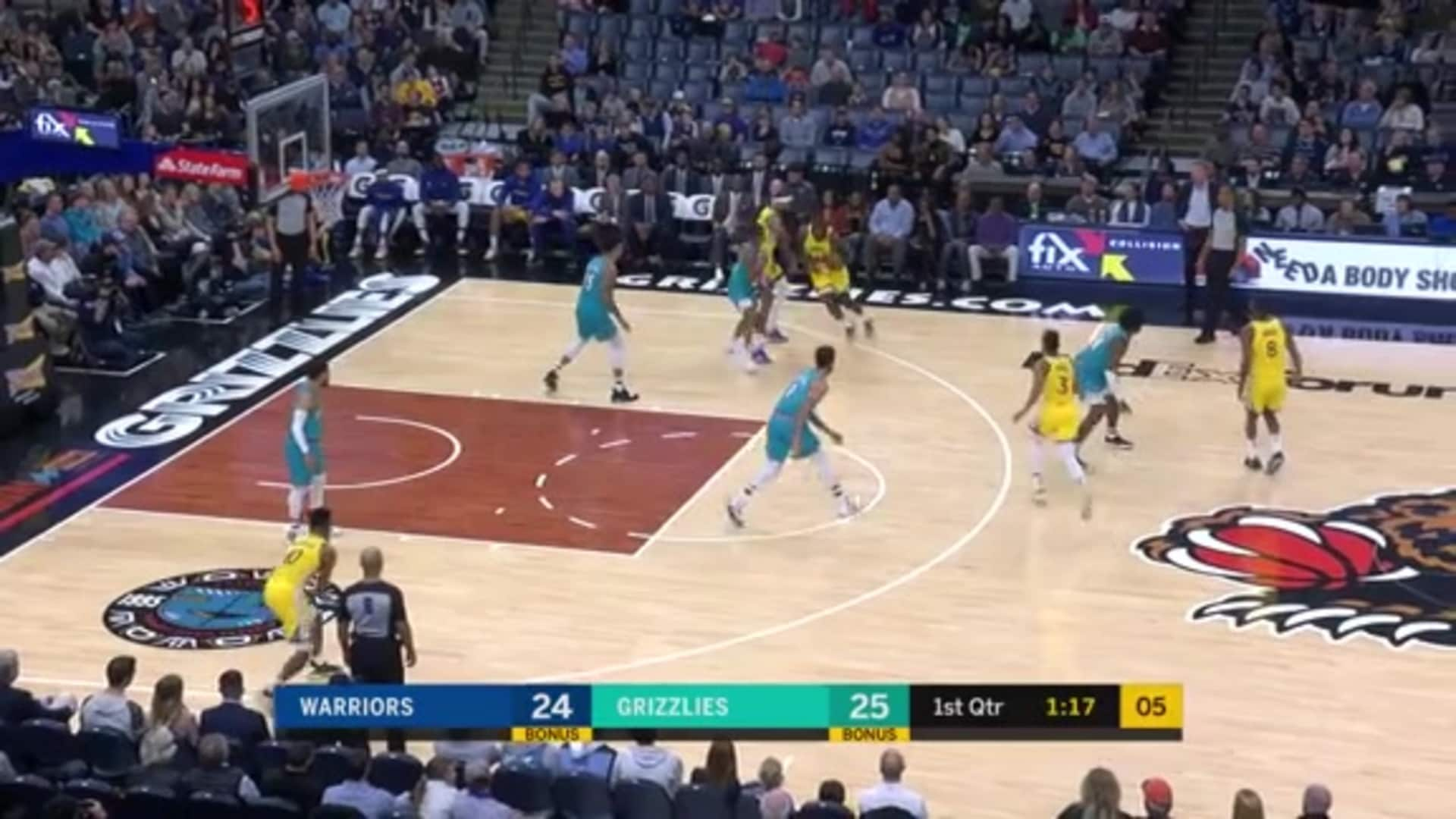 Kyle Anderson steal and assist