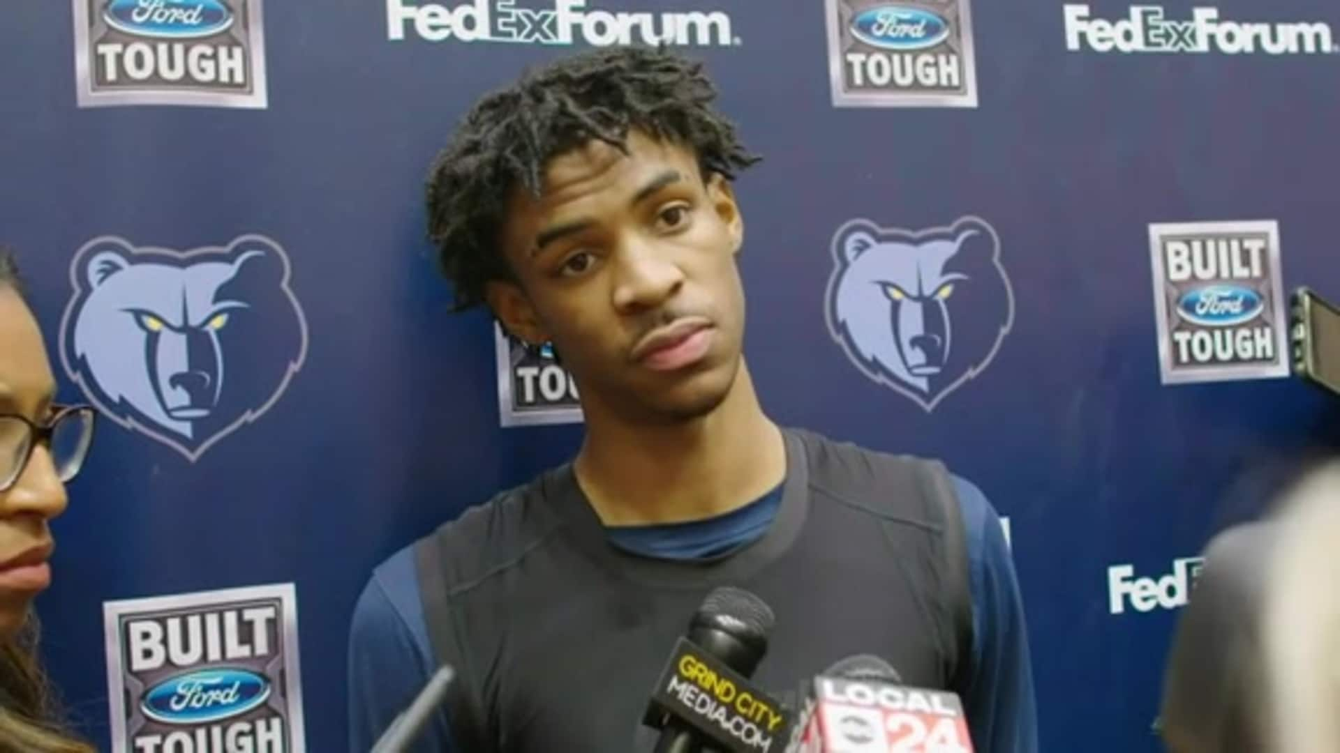 1.16.20 Ja Morant media availability