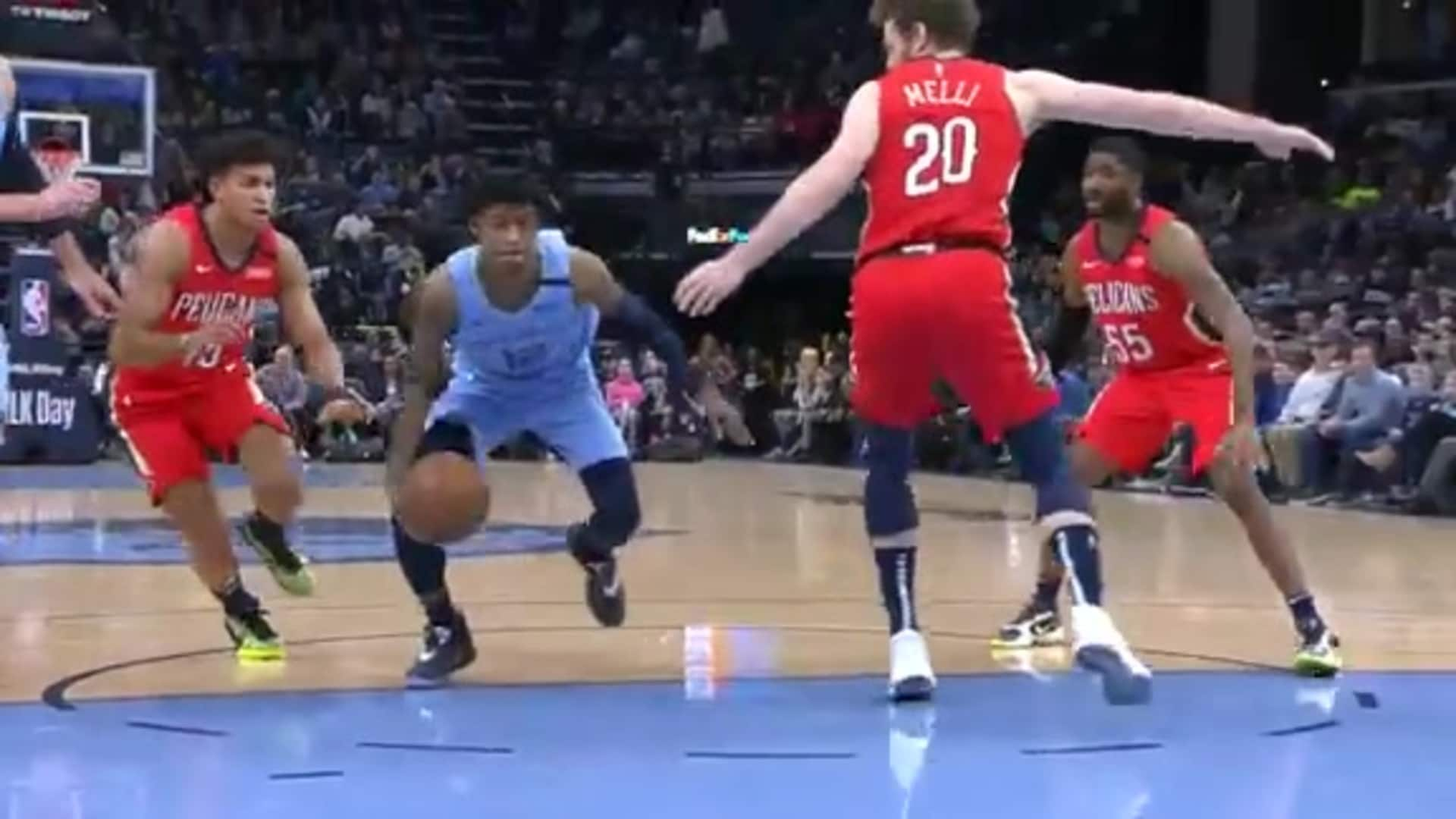Ja shakes and bakes his way to the basket
