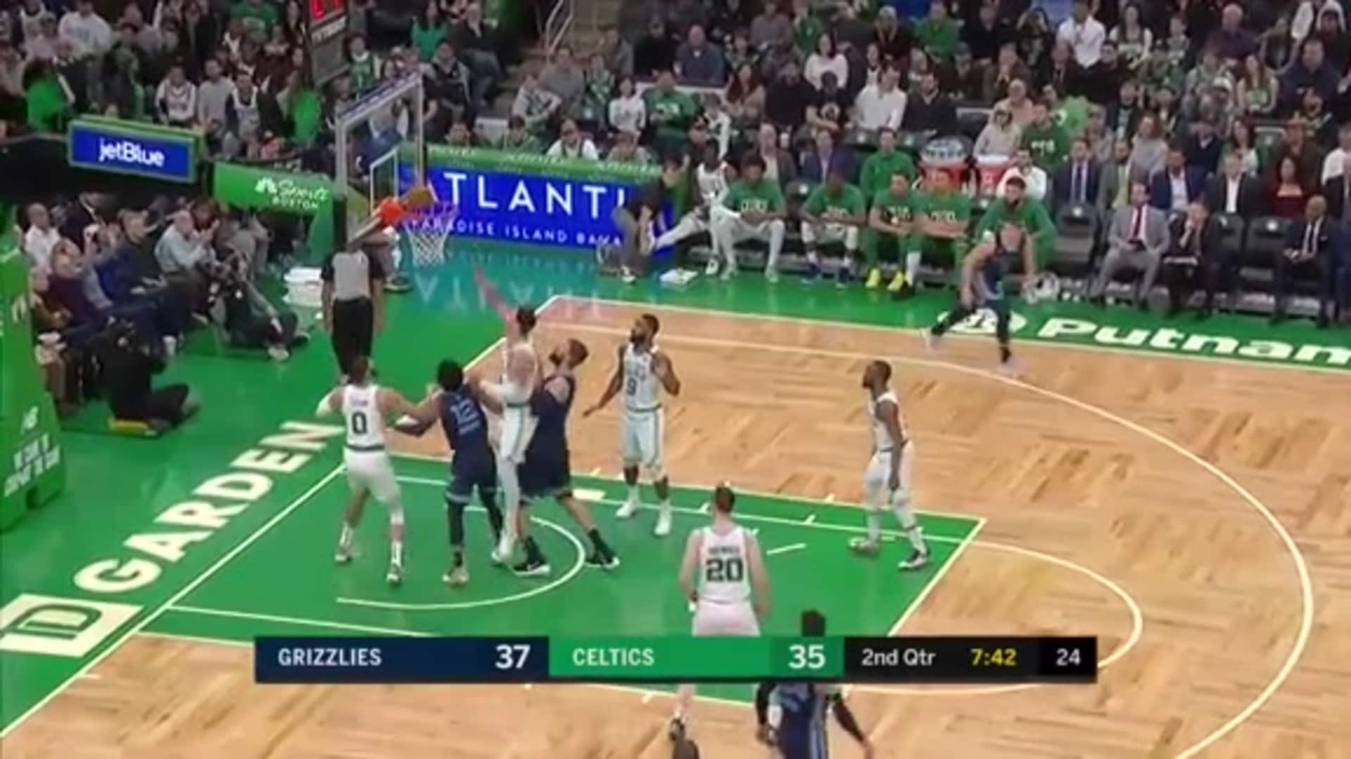 Jonas Valanciunas 16 points @ Celtics 1.22.20