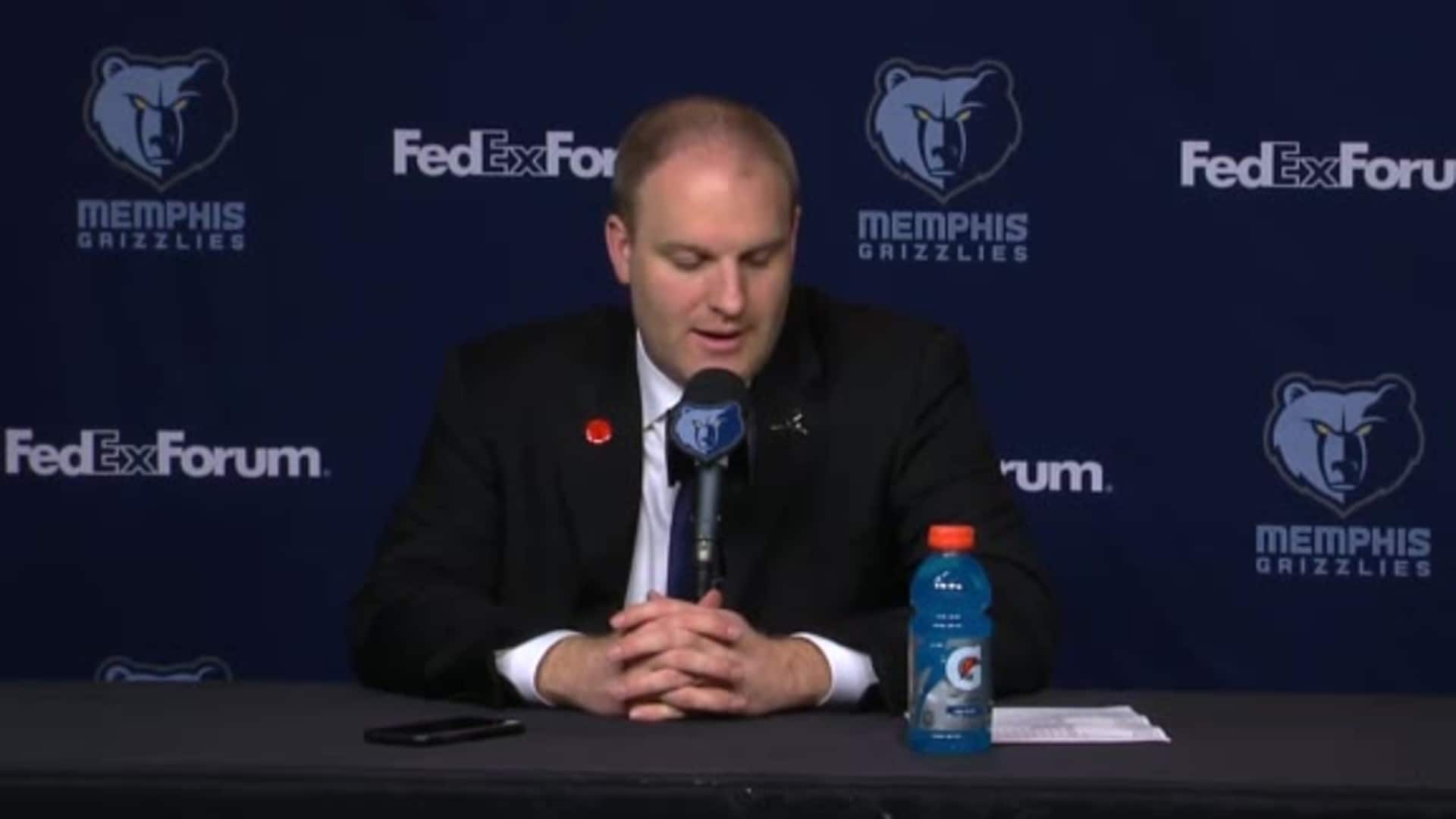 MEMvDEN: Postgame press conference 1.28.20