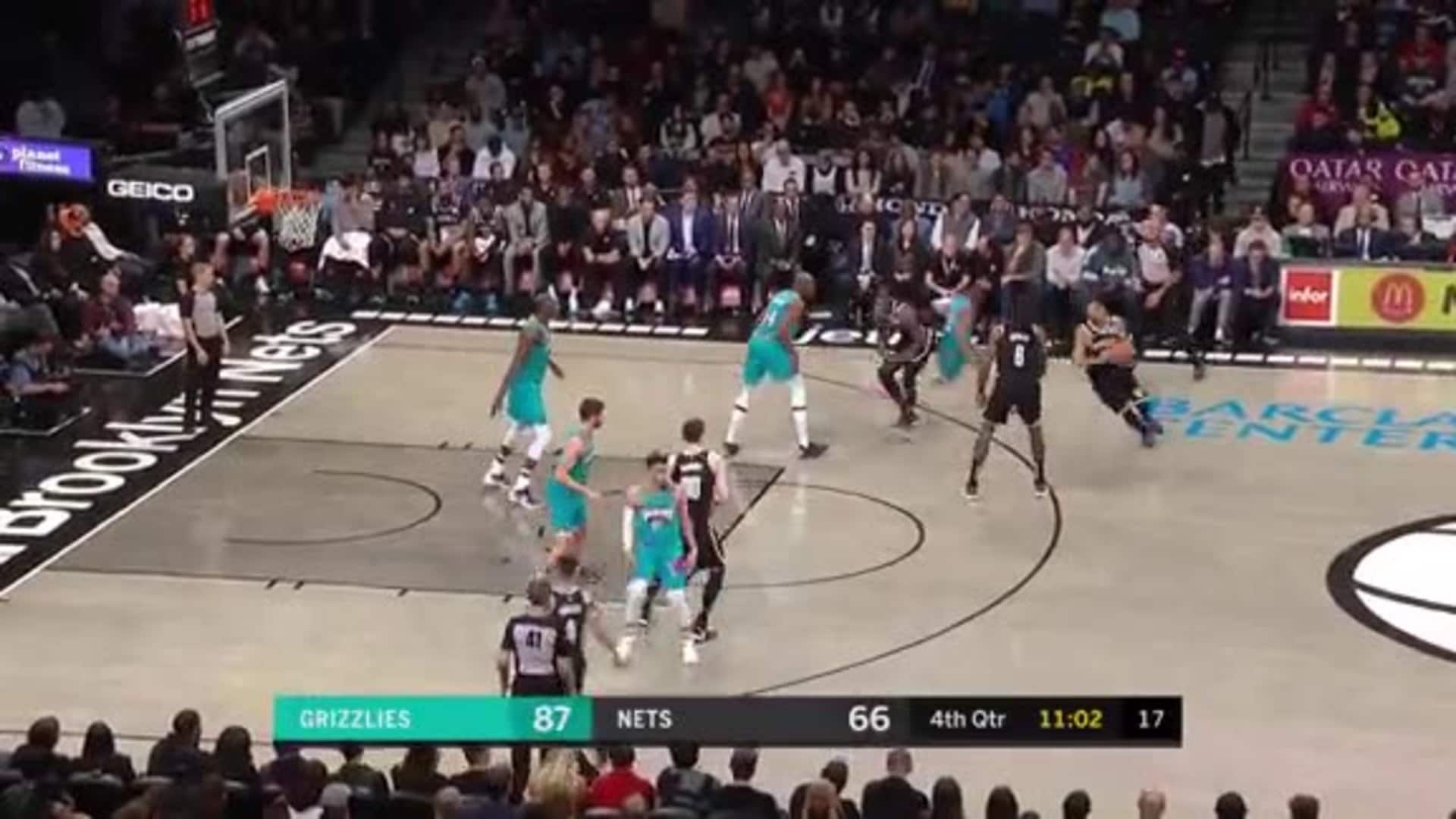Gorgui with a big rejection