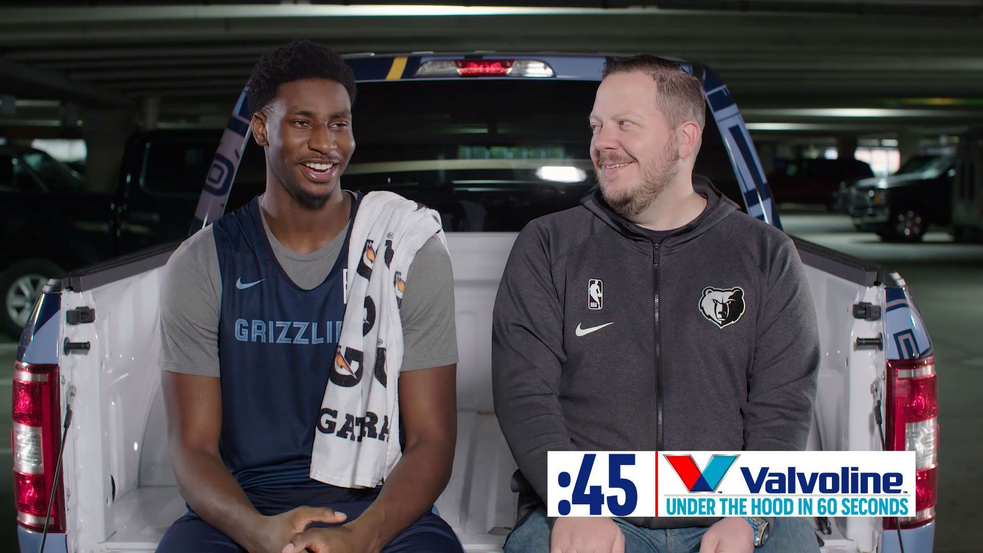 Valvoline: Under the Hood in 60 Seconds with Jaren Jackson Jr.