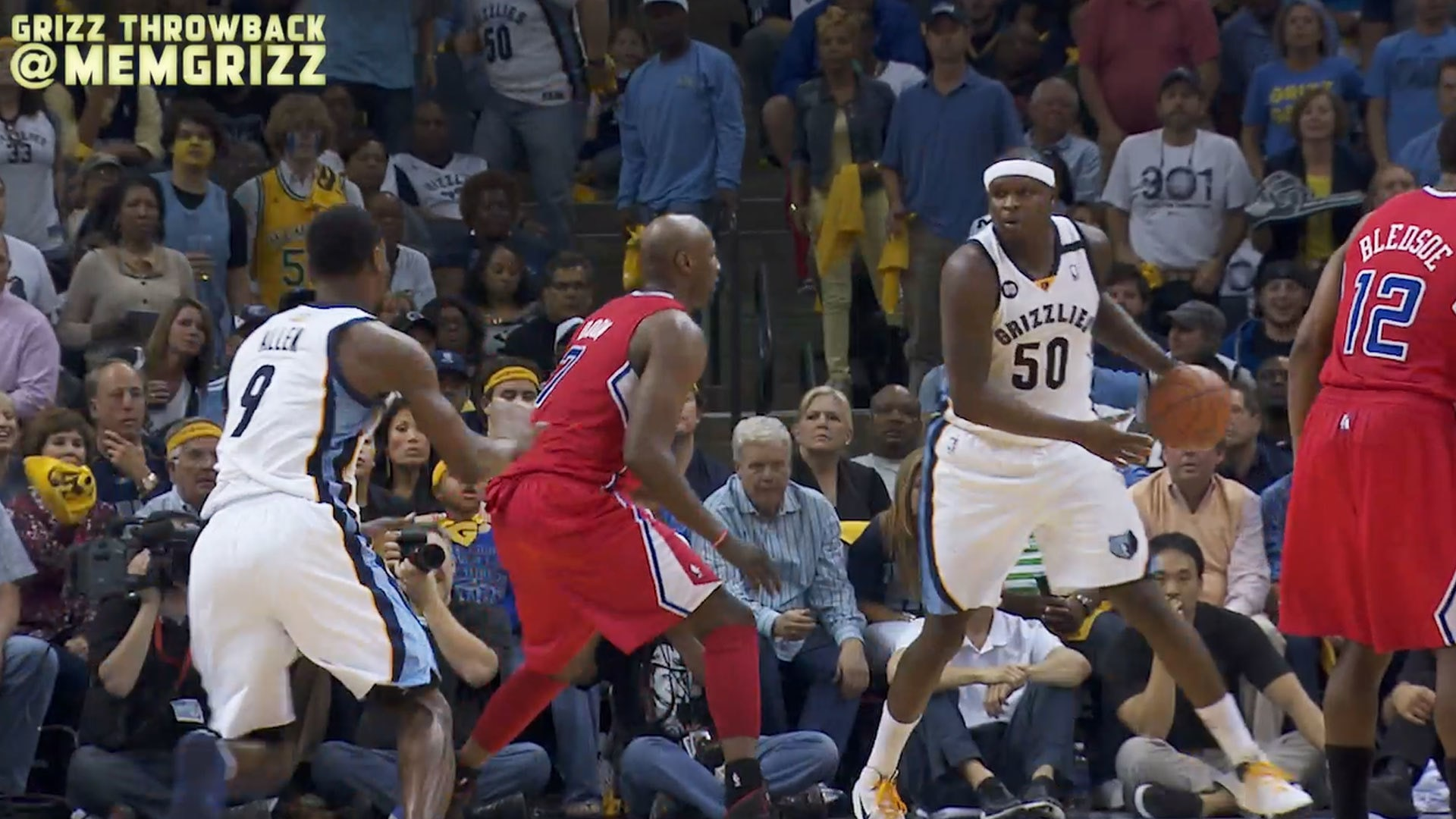 2013 Playoffs: Grizzlies vs Clippers | Throwback Thursday